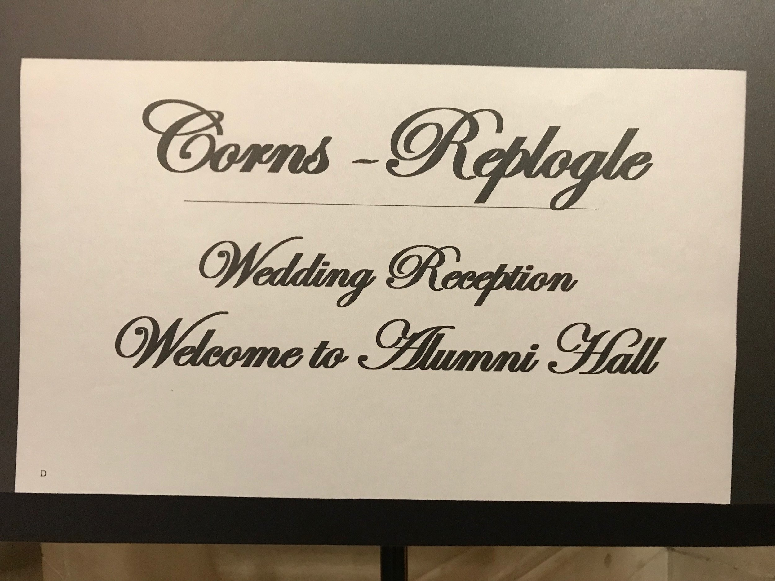 Corns Replogle Wedding by DJ Jim Cerone