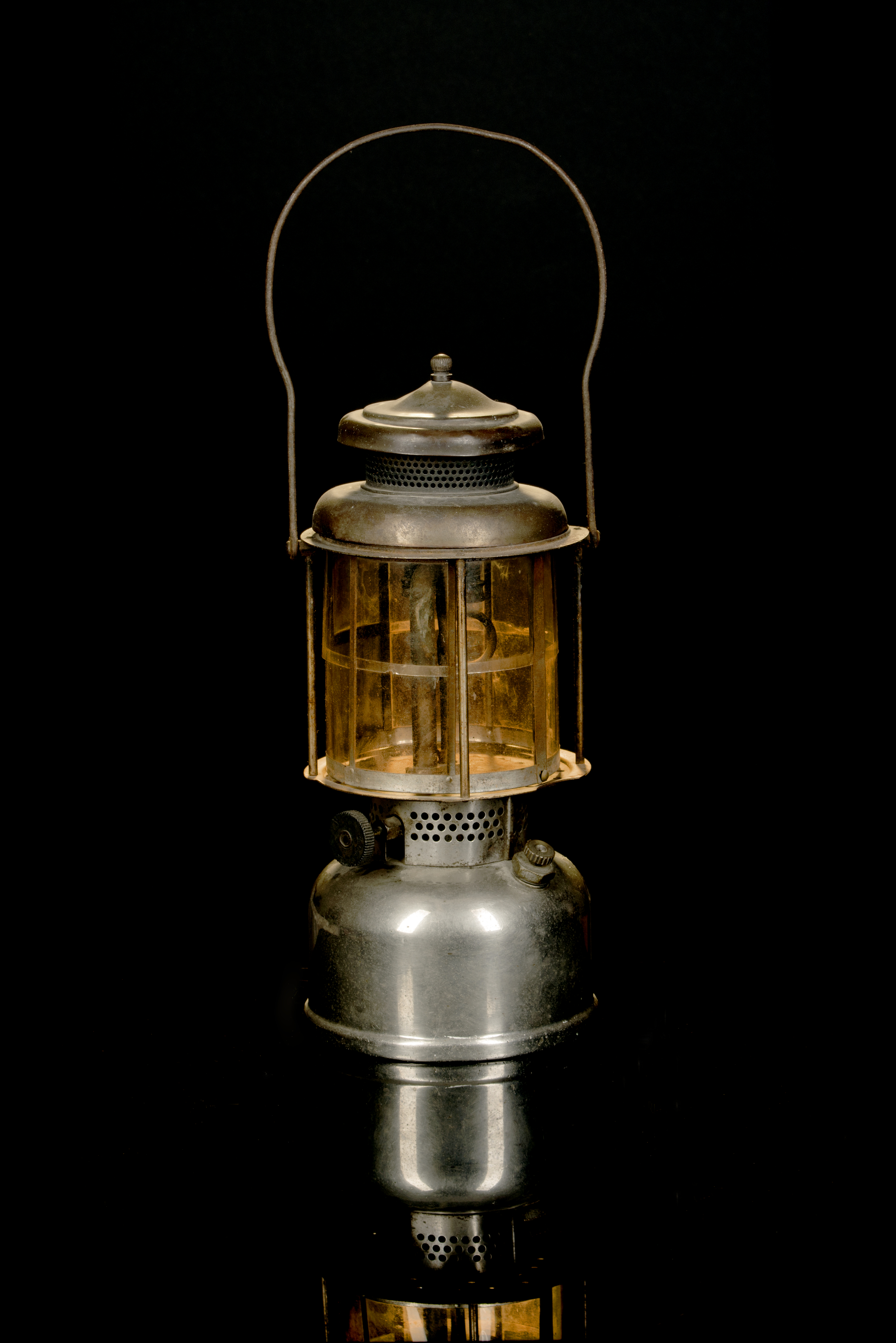 Air O Lantern Quick Light with Mica Globe, 1914-1920