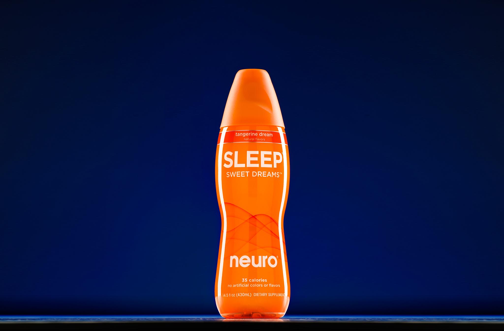 Tabletop product photo of Neuro Sleep beverage