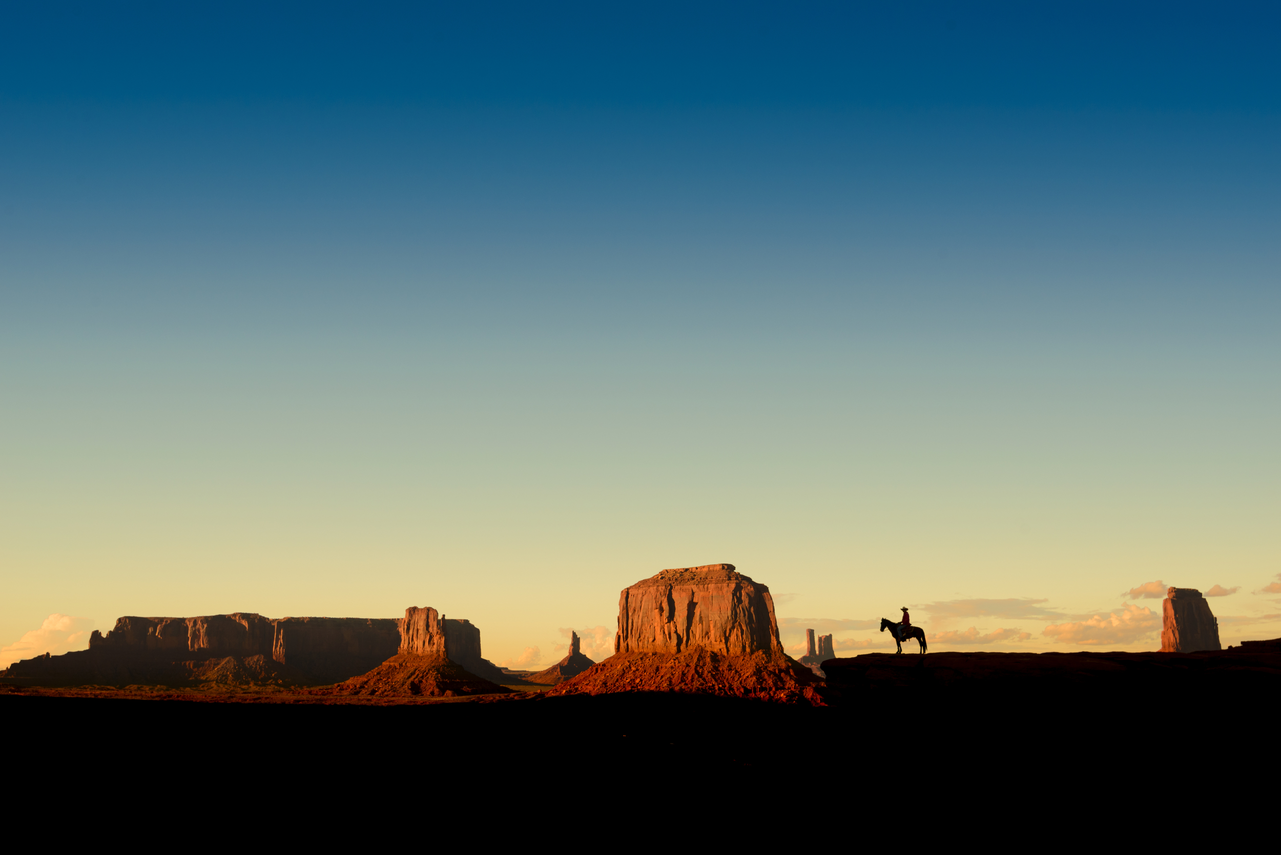 Monument Valley, John Ford's Point at sunset