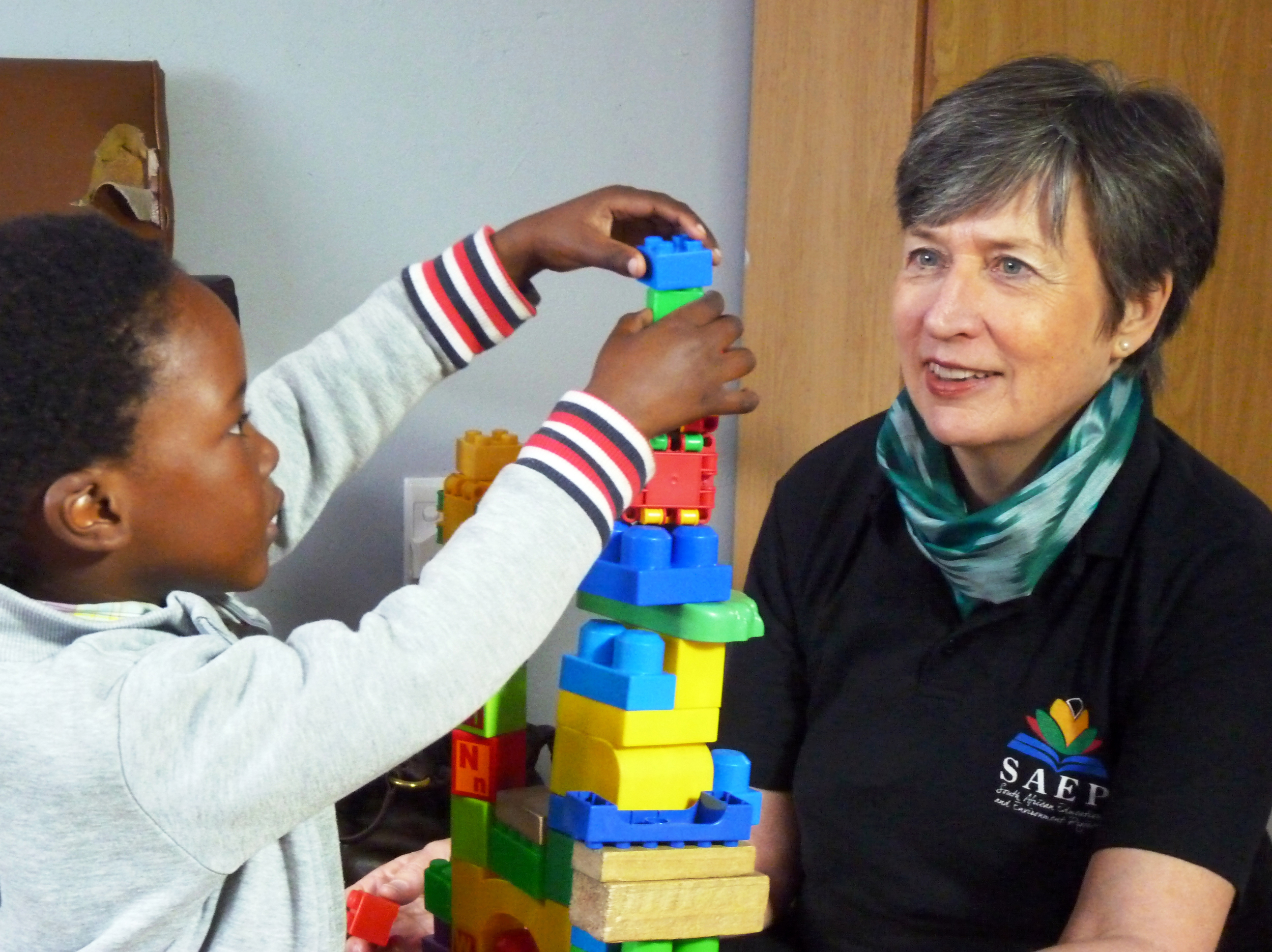 Director Jane Keen visits an SAEP preschool