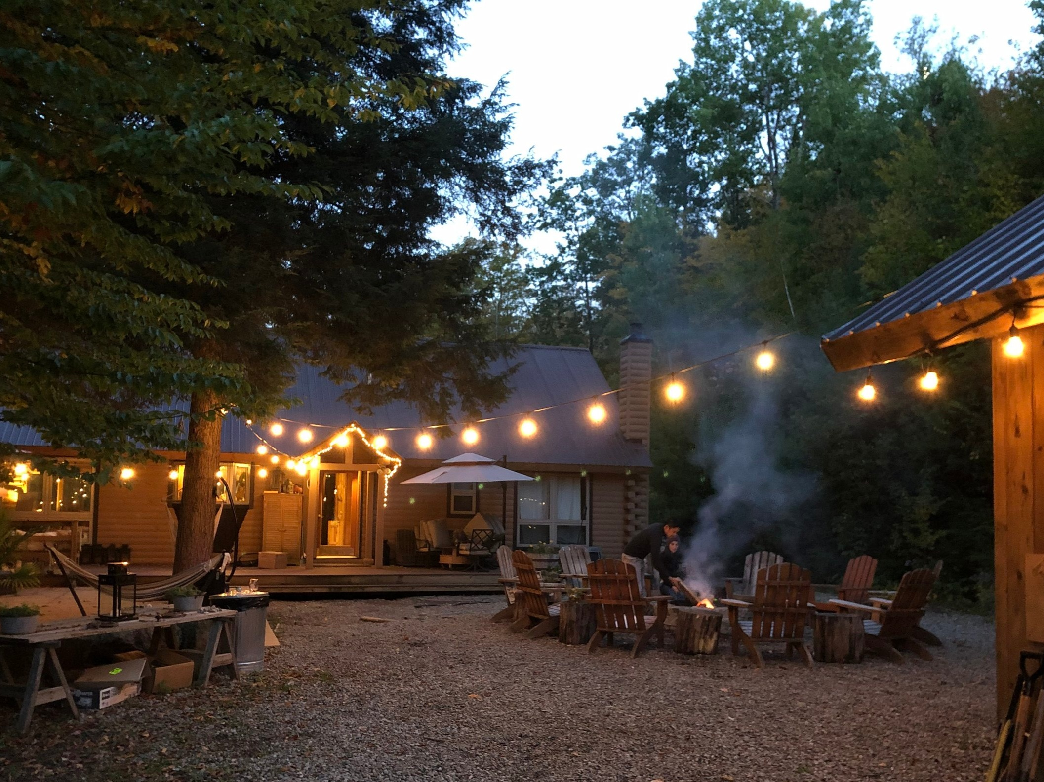 Sit under the stars at our Fire Pit