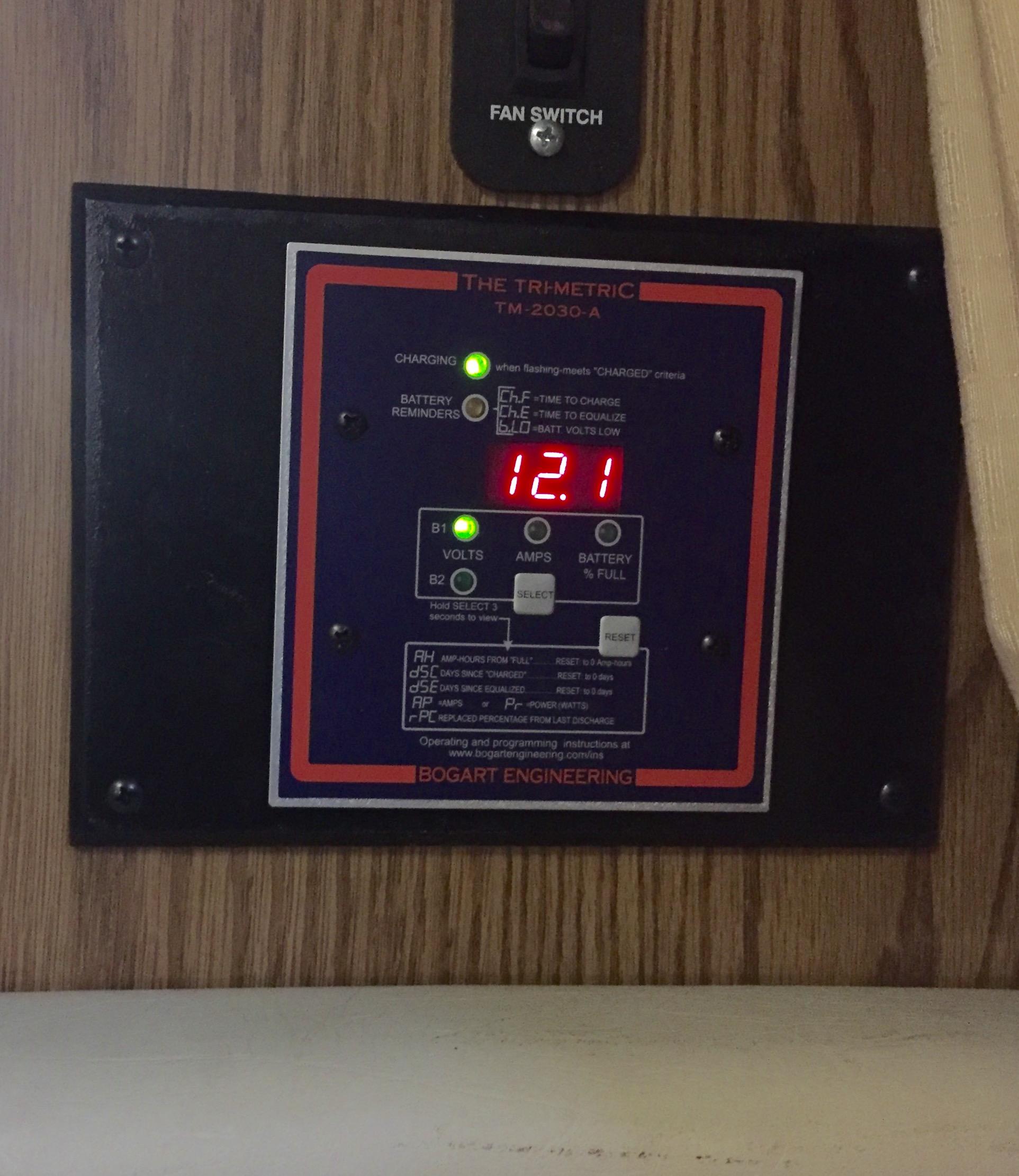 Trimetric Battery Monitor