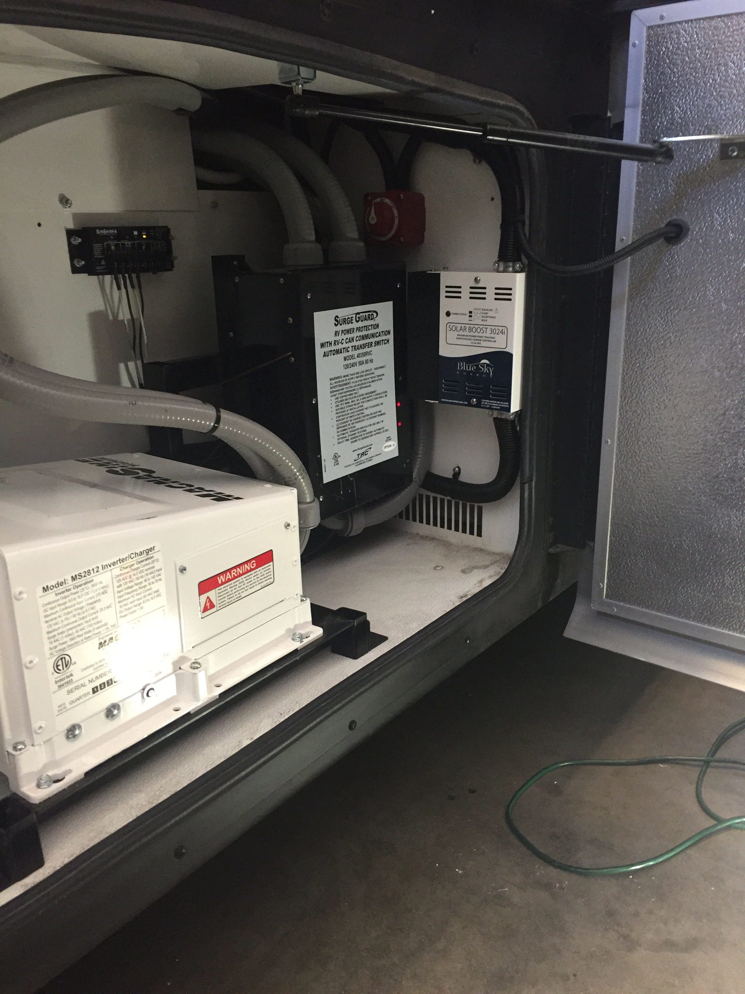 Inverter and solar charge controller