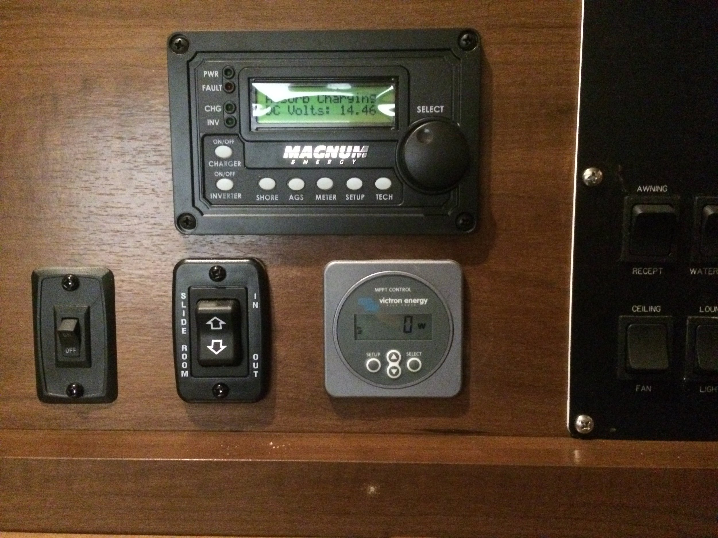 System controls and monitors