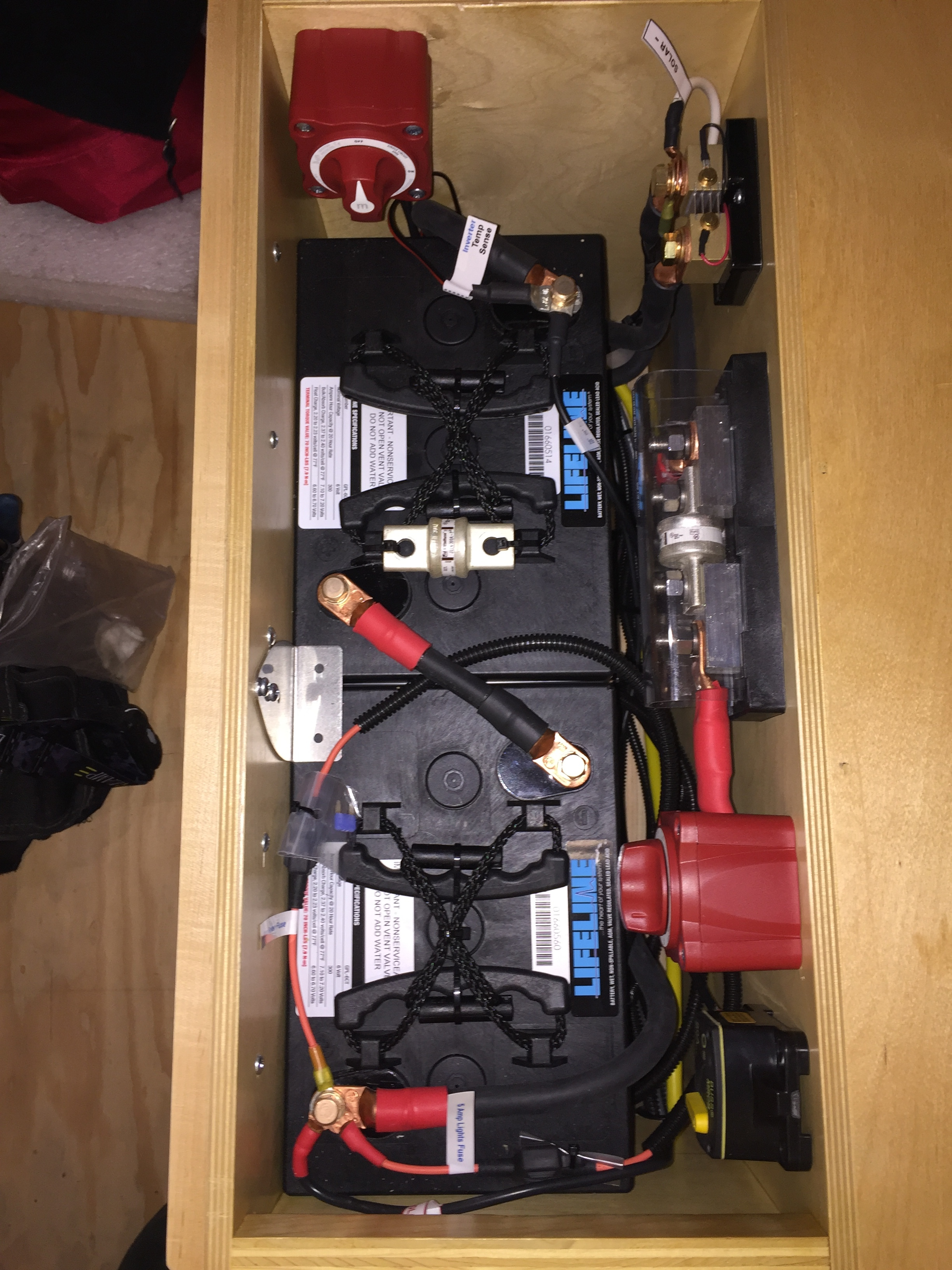 AGM Battery Bank