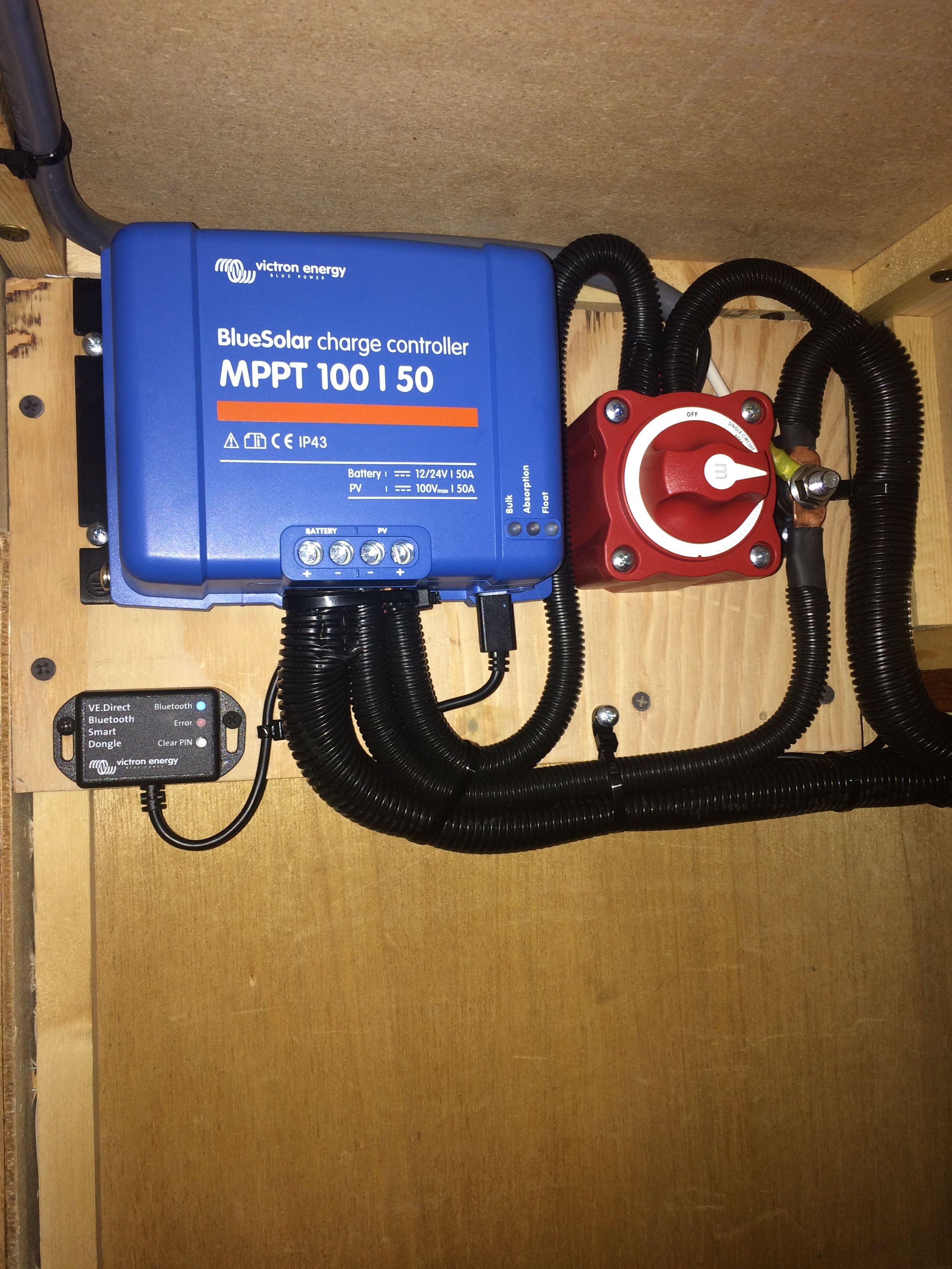 50A MPPT Charge Controller