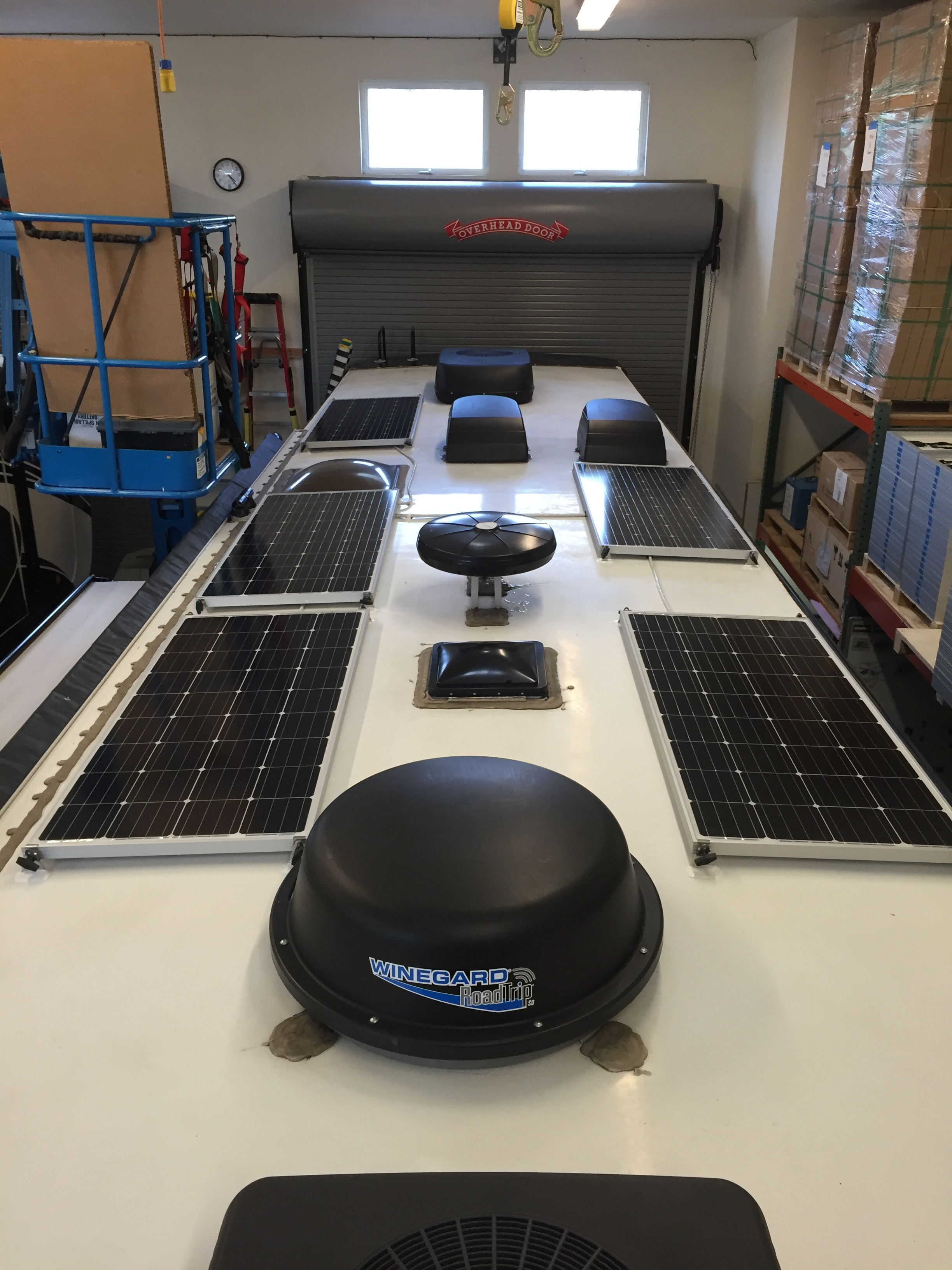 800W of SF160 Solar Panels