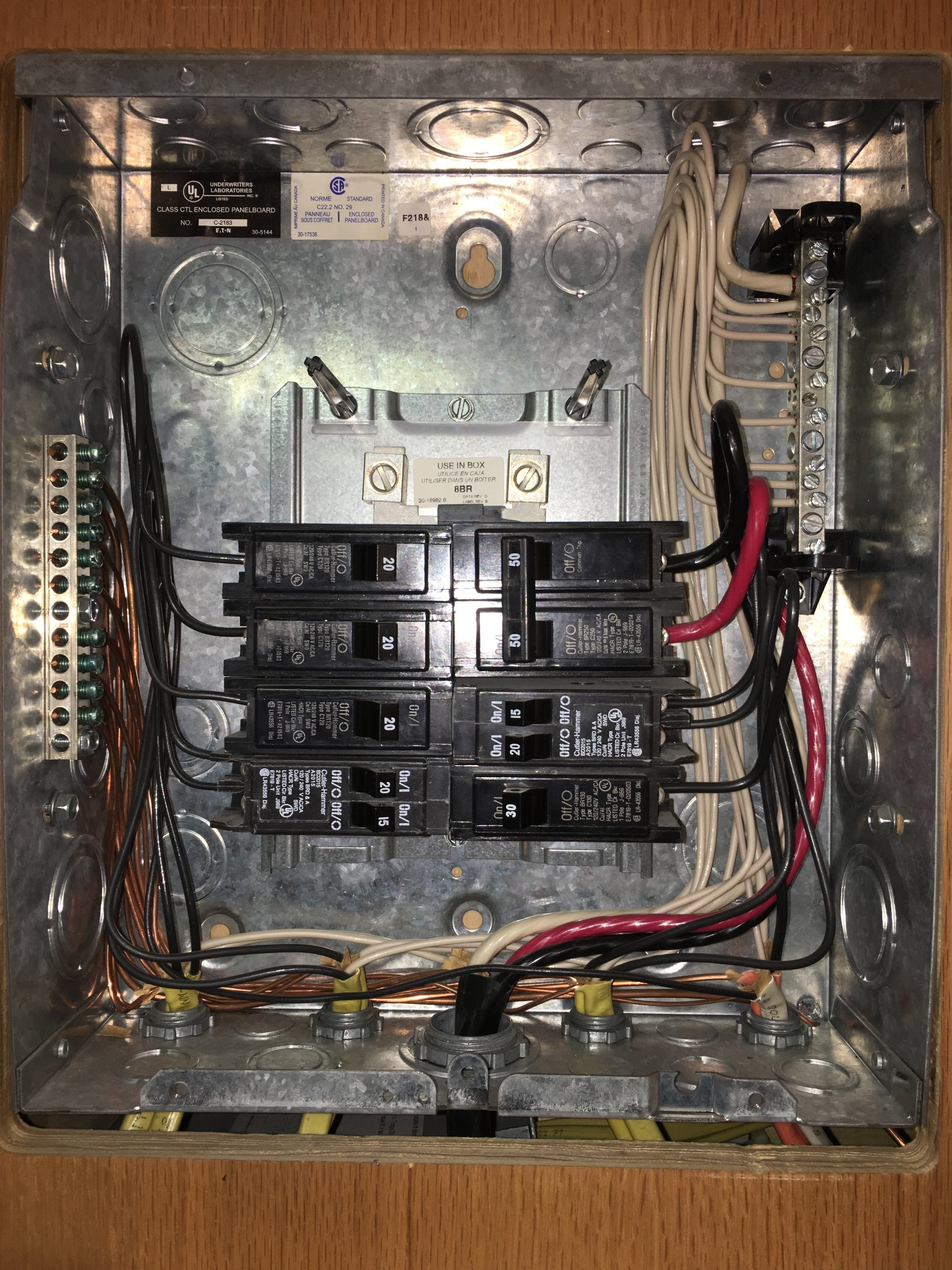 AC Breaker Box