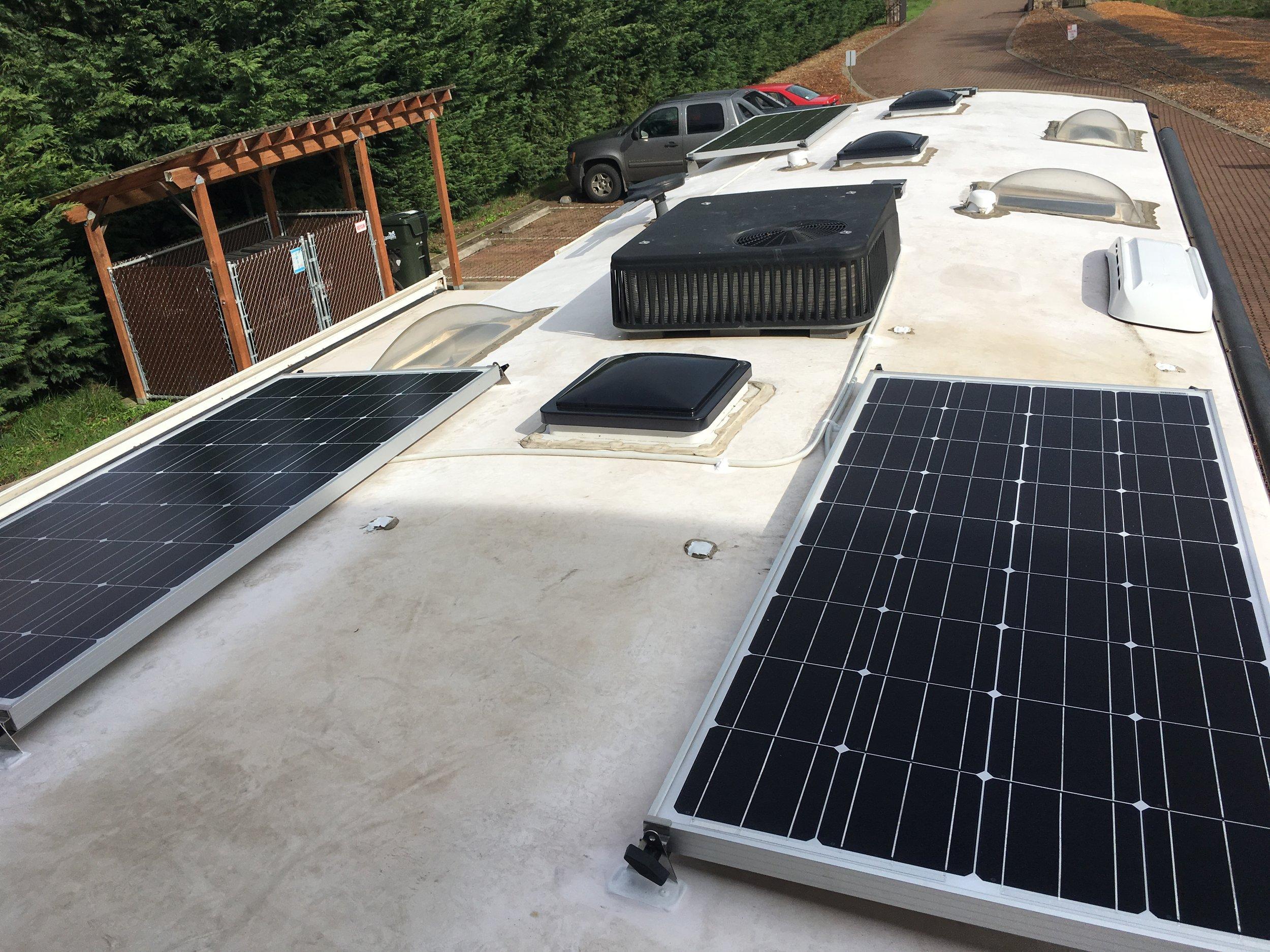 480W Solar Charging System