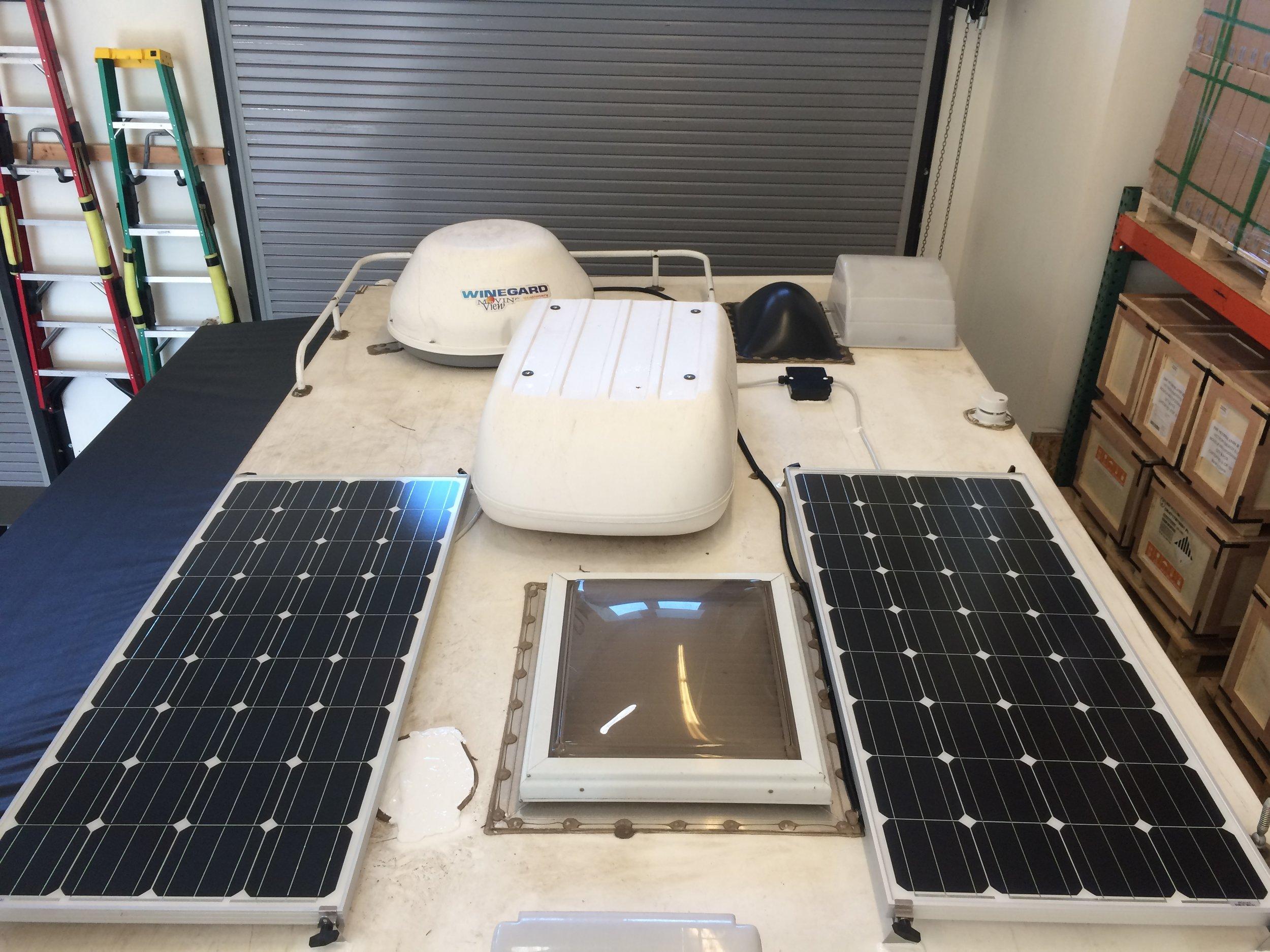 SF160 Solar Panels