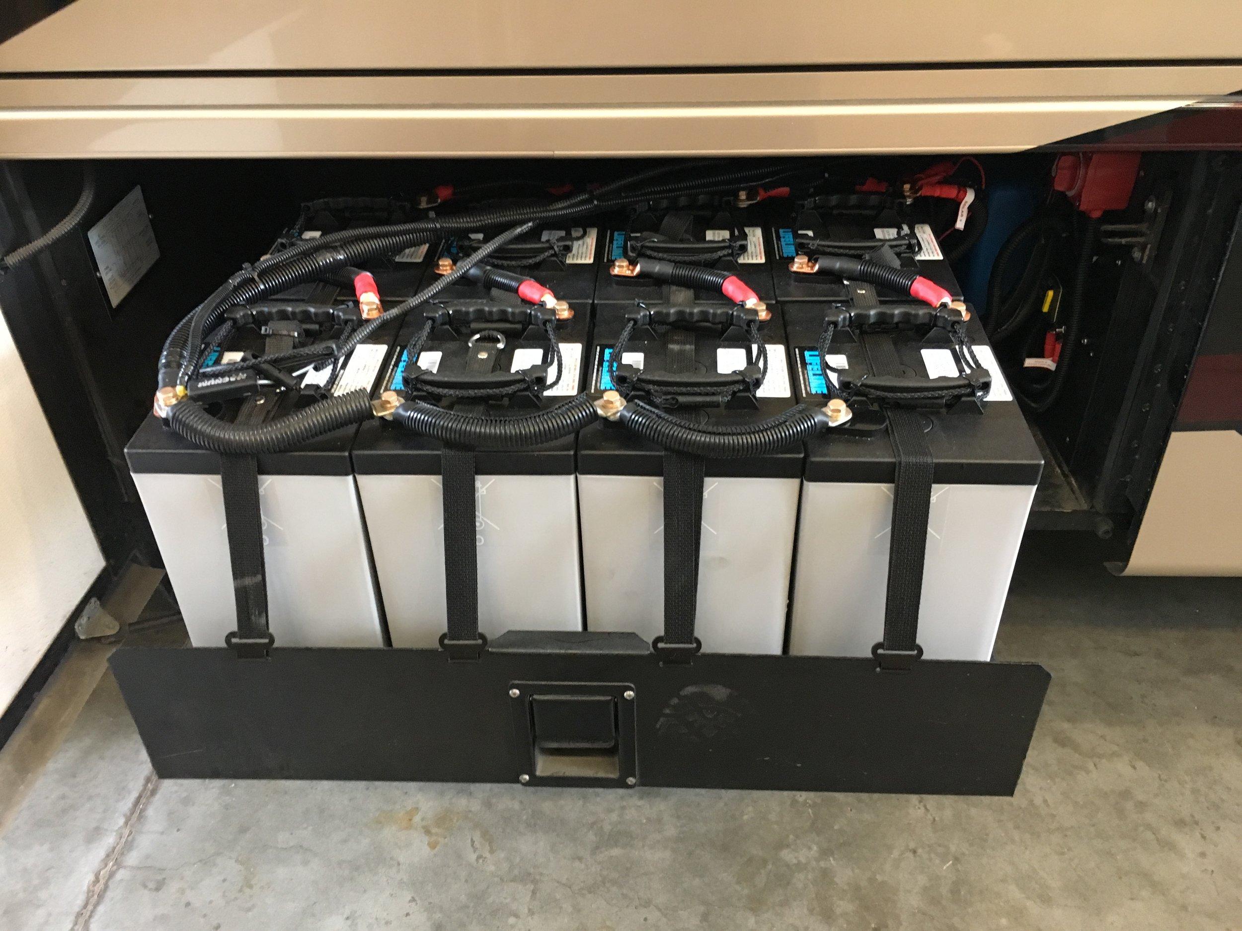 1200Ah of AGM Batteries