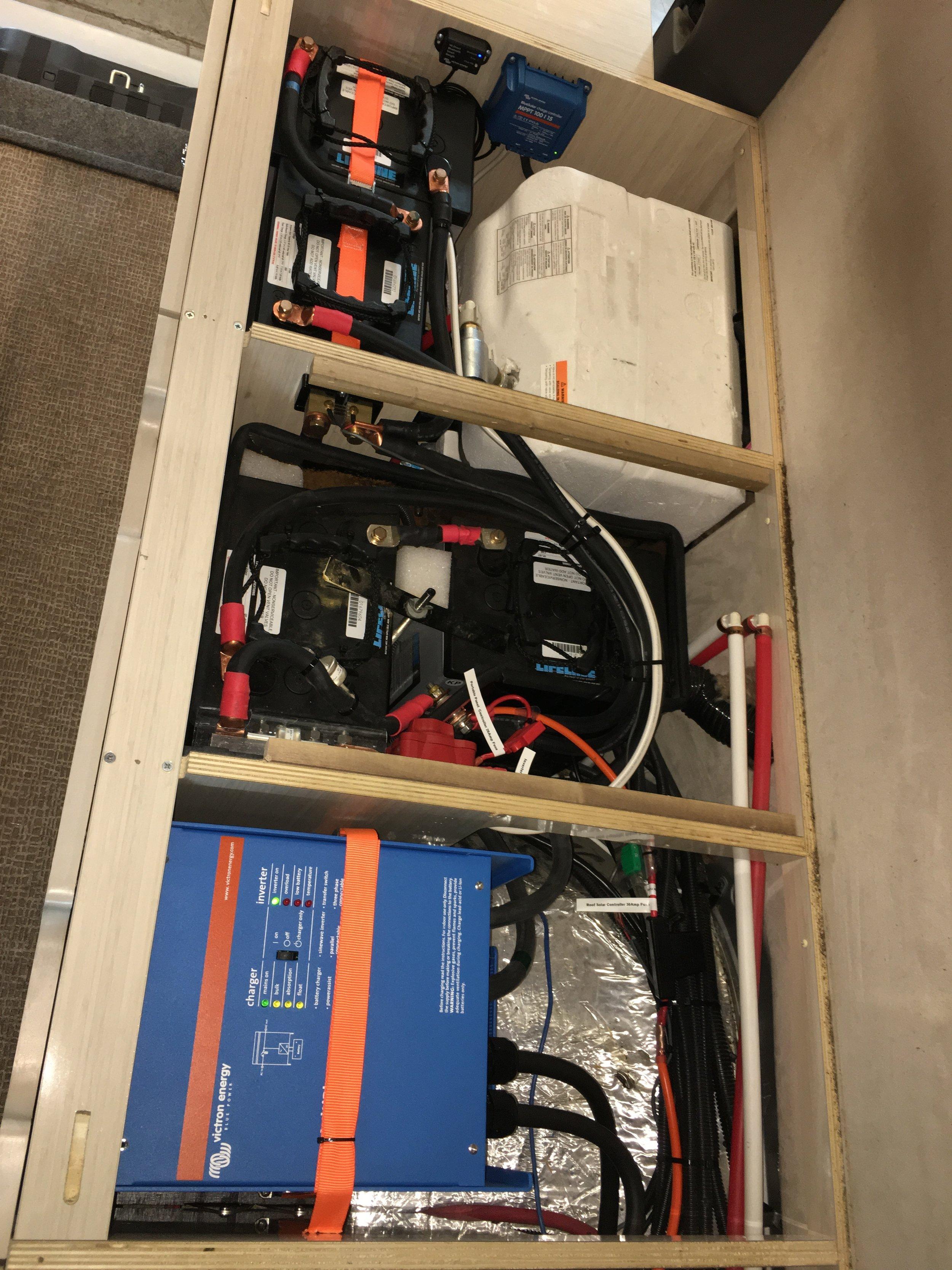 Victron Multiplus 3000VA Inverter System