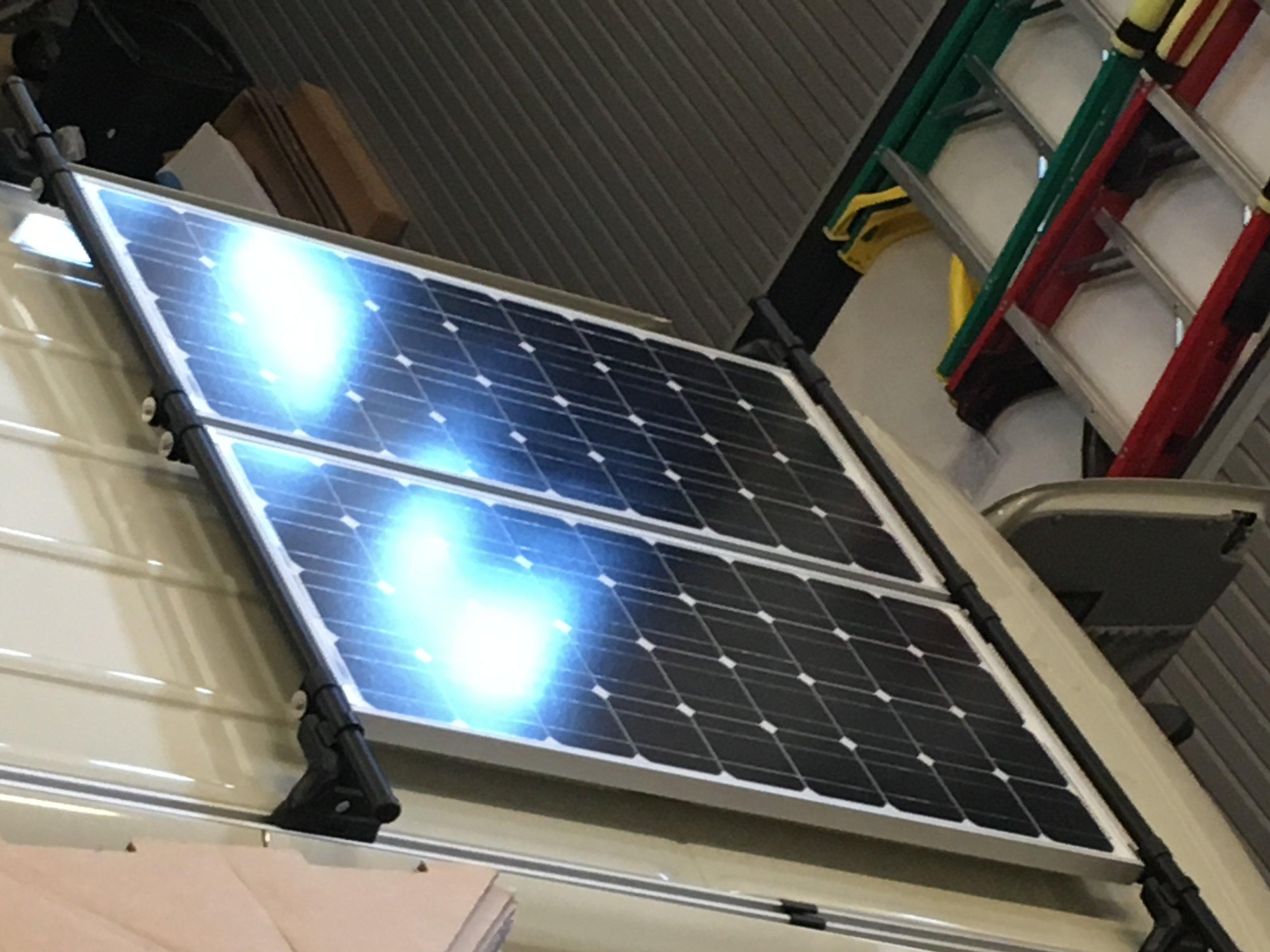 200W Solar Charging System