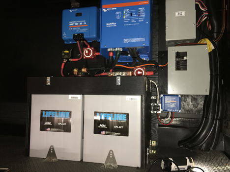 AGM Batteries, Solar Charge Controllers, Inverter