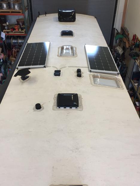 2x 180W Solar Panels