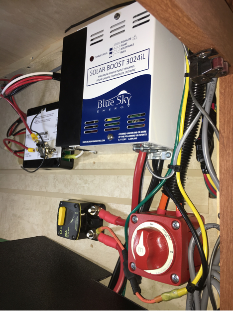 Blue Sky Charge Controller