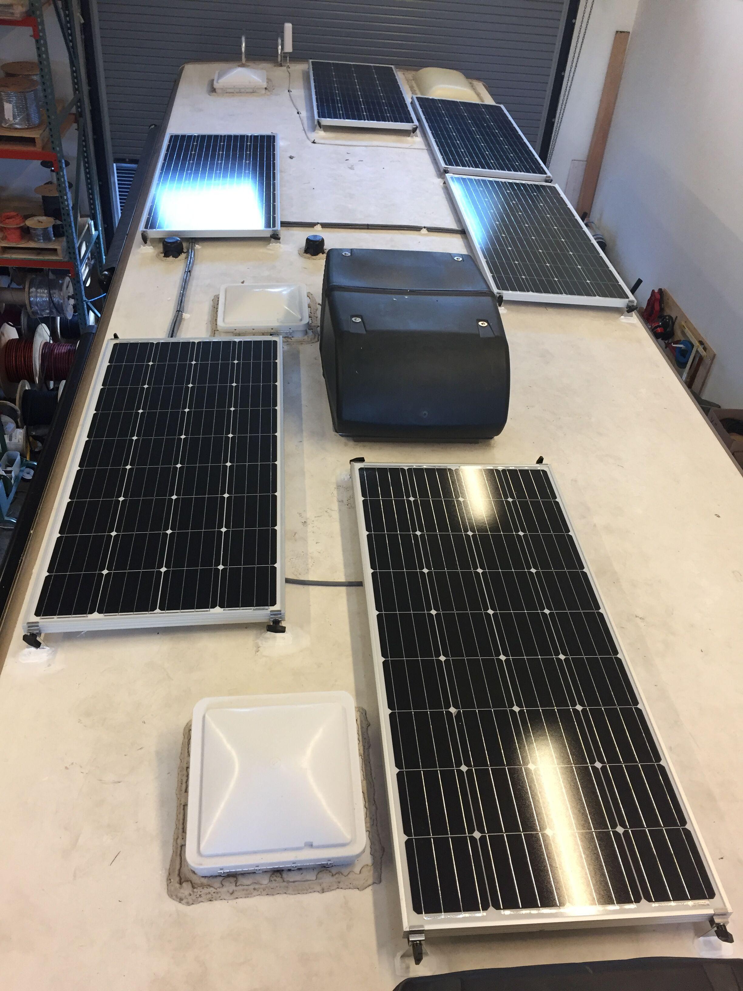 960W solar