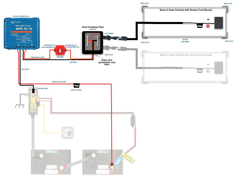 truck camper solar kit inverter charger expion battery l