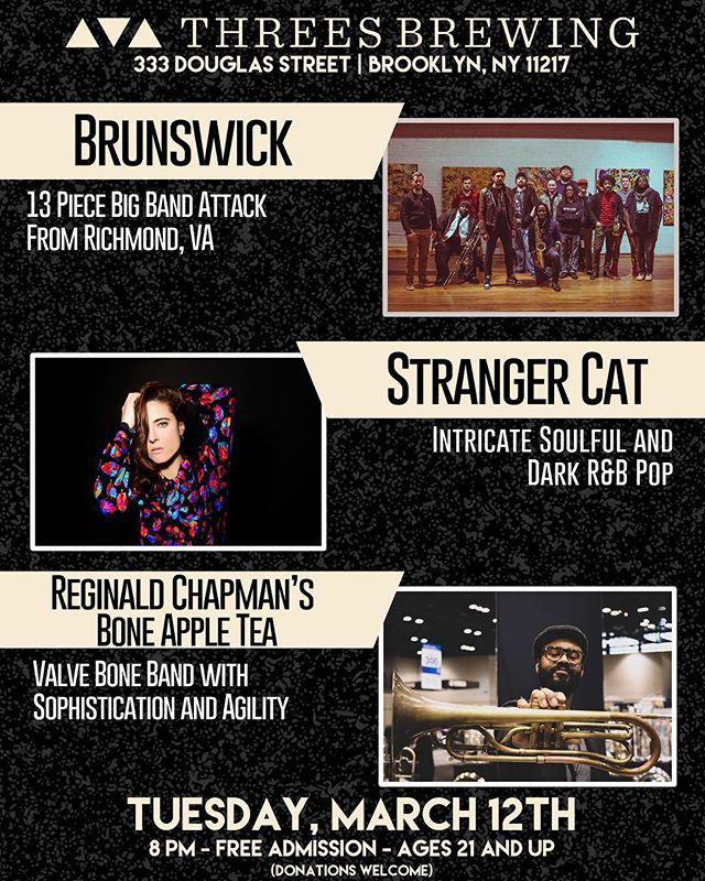 Brooklyn! March 12th! Spread the word! #RVAtoNYC