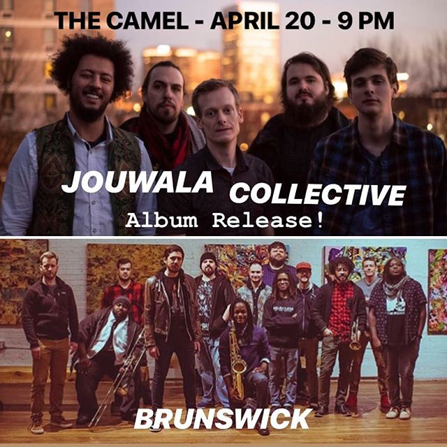 Opening up tonight at The Camel for the @jouwalacollective Album Release at The Camel.  Music starts at 9!
