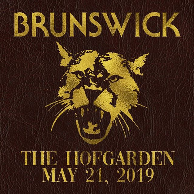 Brunswick assembles this Tuesday at @thehofgarden - Doors At 9 - Two Sets - Free Admission 🎉🎊