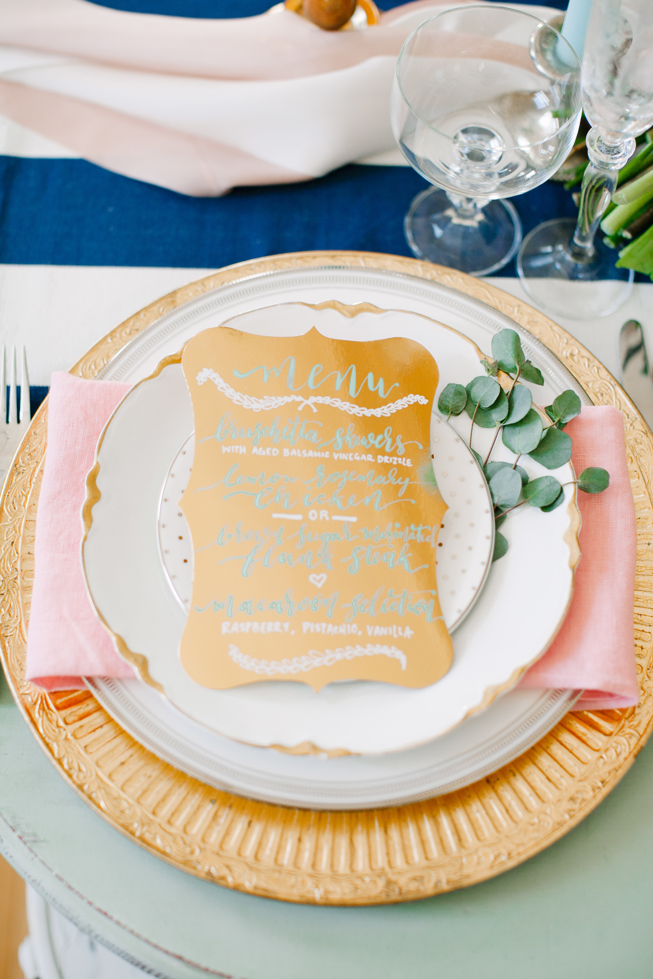 Vintage Prep Style | Hooked Calligraphy