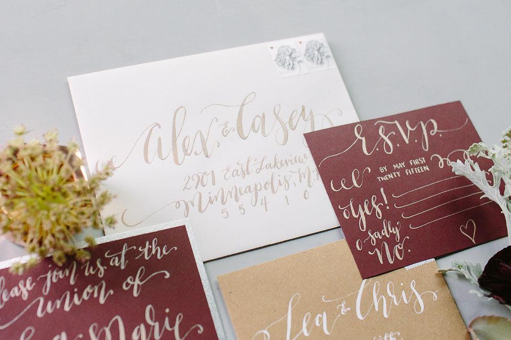 Warehouse Wedding   Hooked Calligraphy