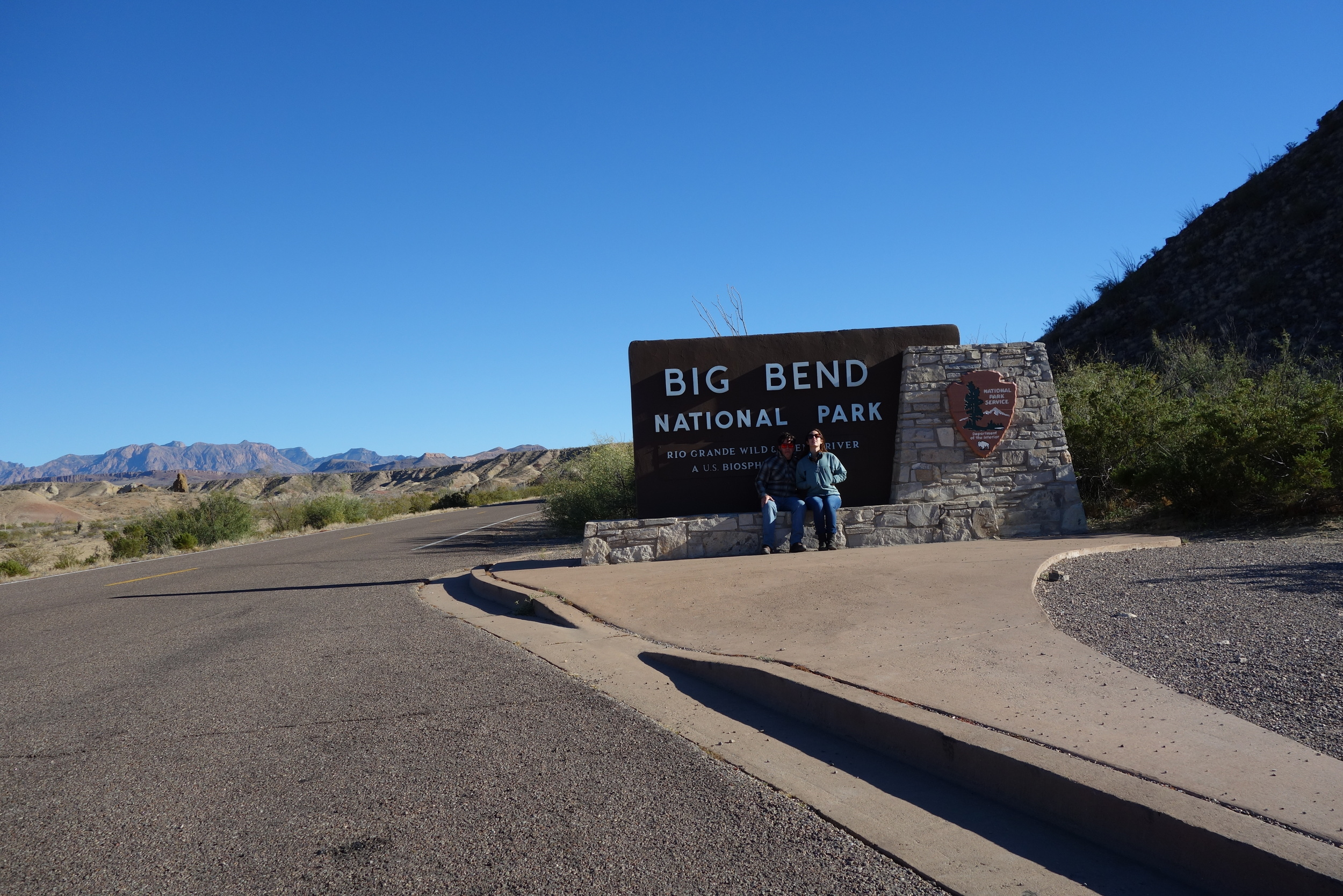 Big Bend. Named for the northern bend the rio grande makes in west texas. Instead of heading south to mexico, the river decided to stay in the USA. This park is so cool. It has its own mountain range, no other park can boast that. The chihuahuan desert is a marvel in itself.