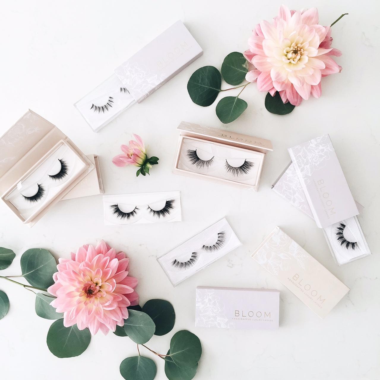 Bloom handcrafted luxury lashes - 2 varieties -