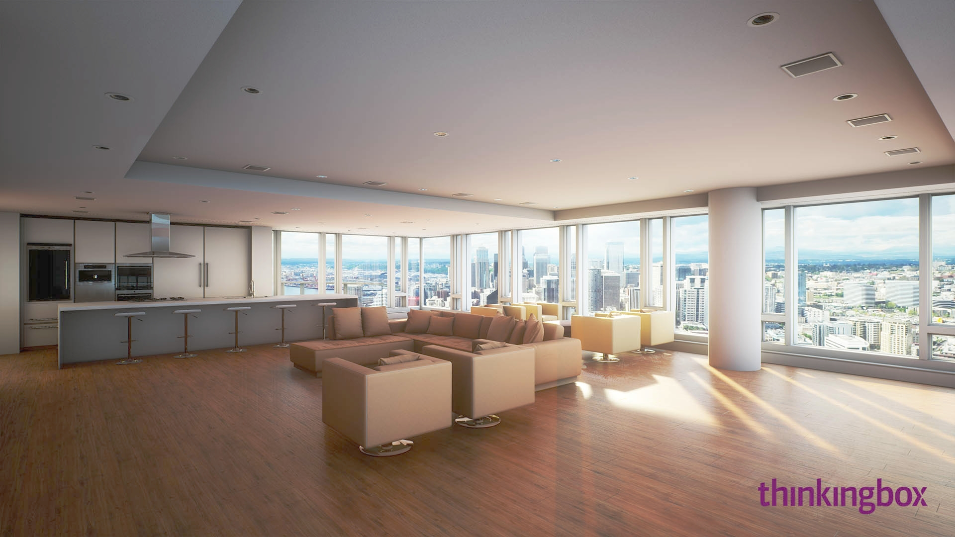 Penthouse - 3D Real-time Virtual Reality