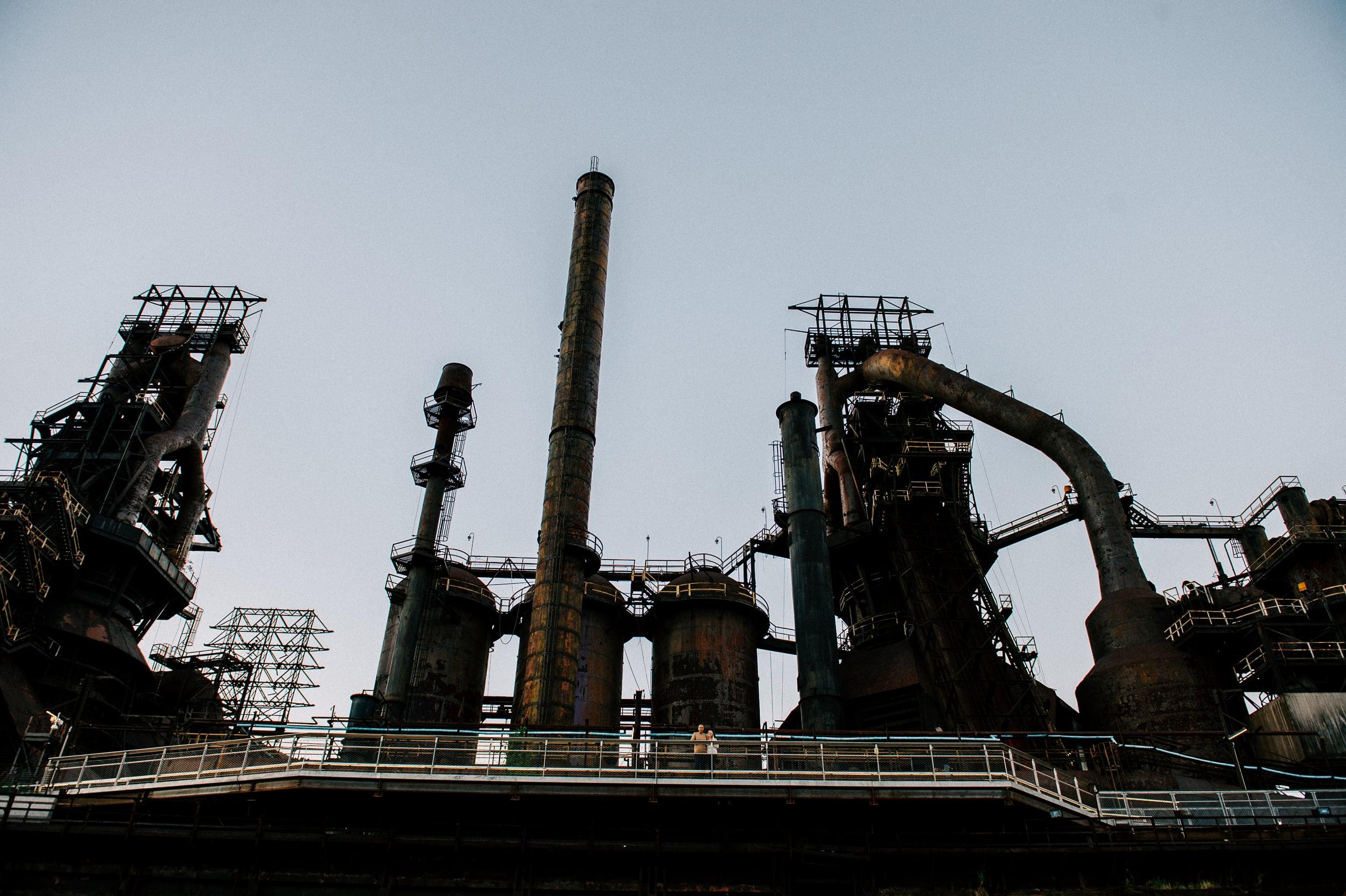 steel-stacks-enagement-photos