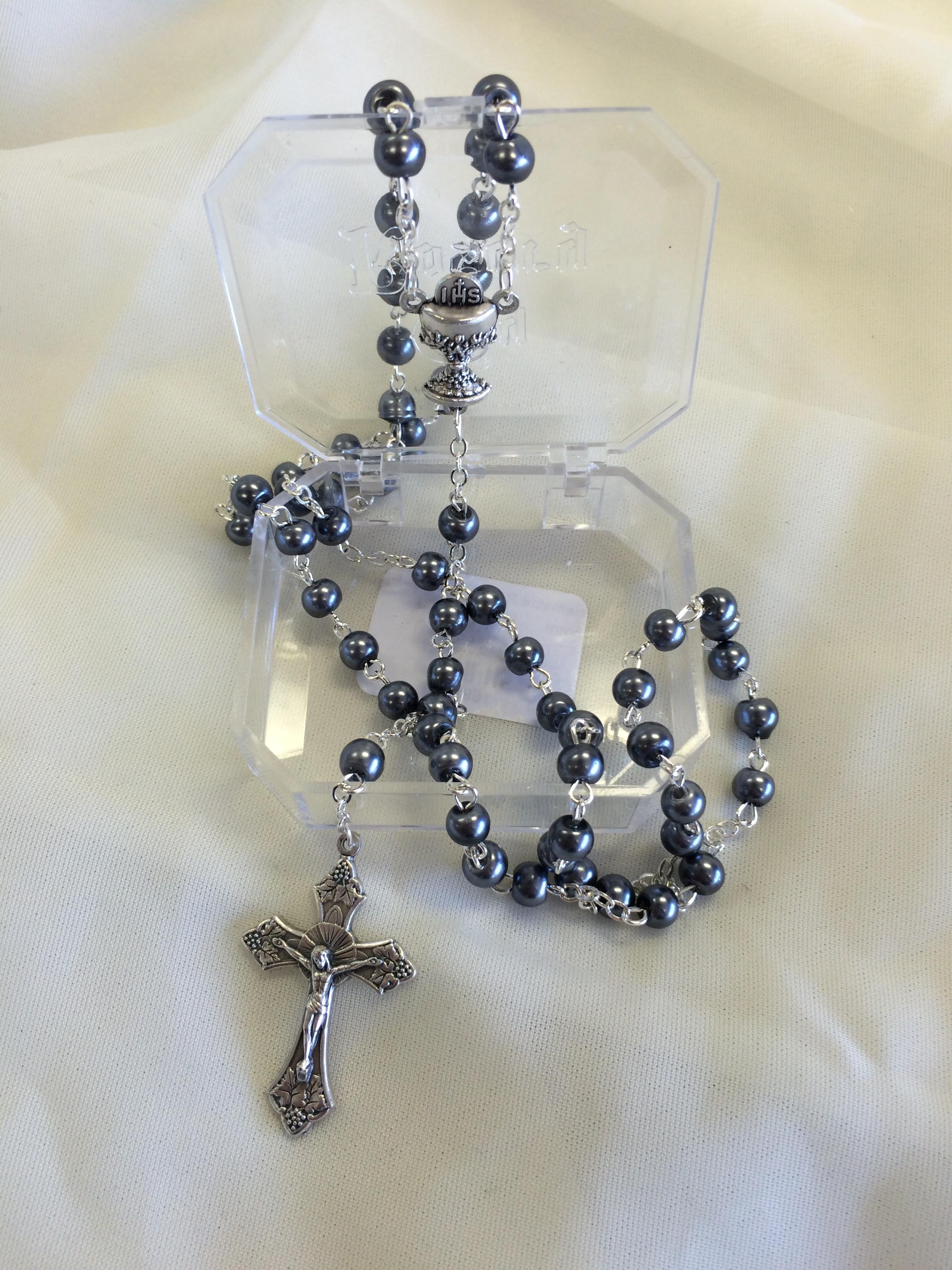Hematite Rosary $12.99