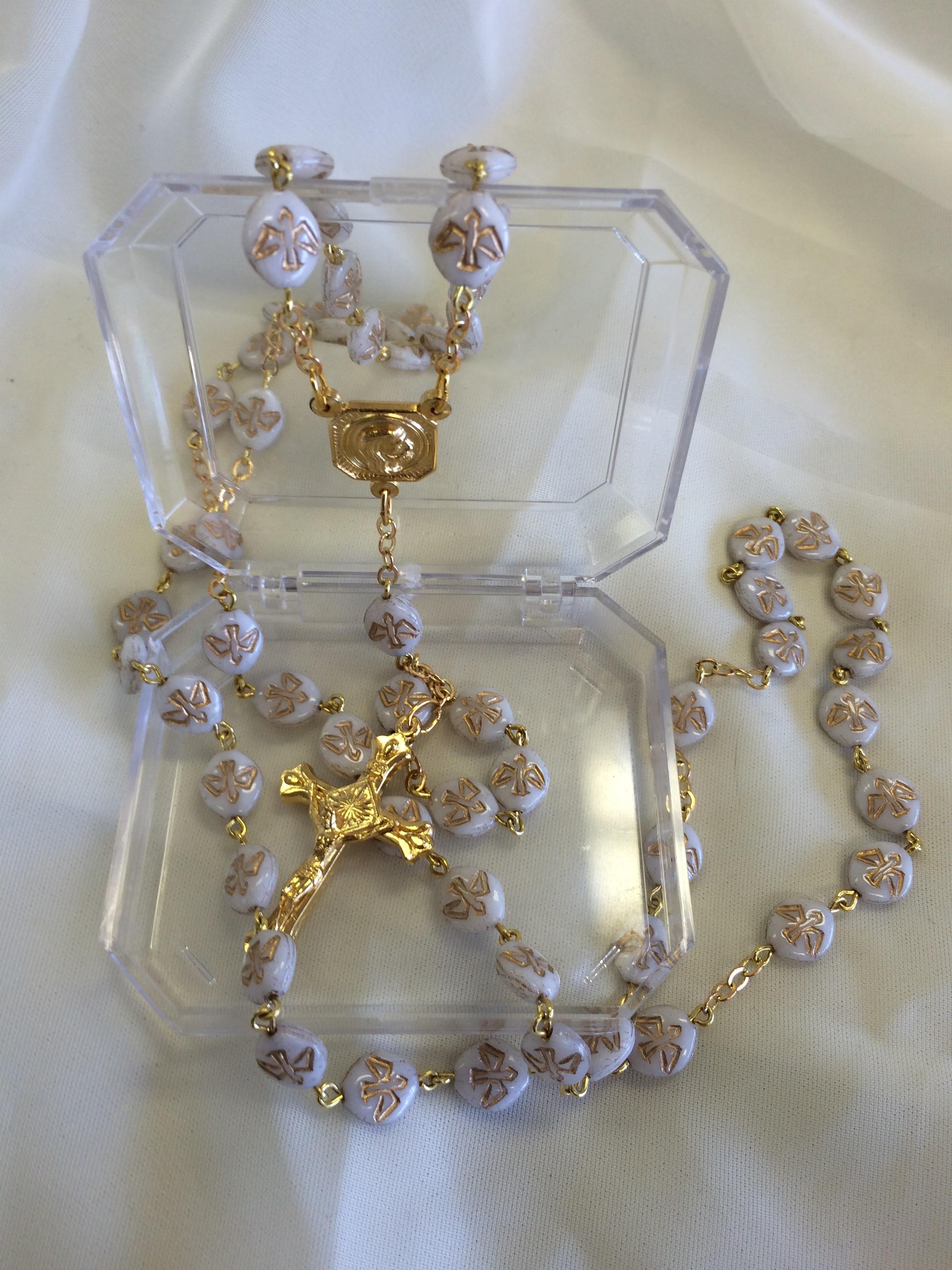 Holy Dove Rosary $19.99