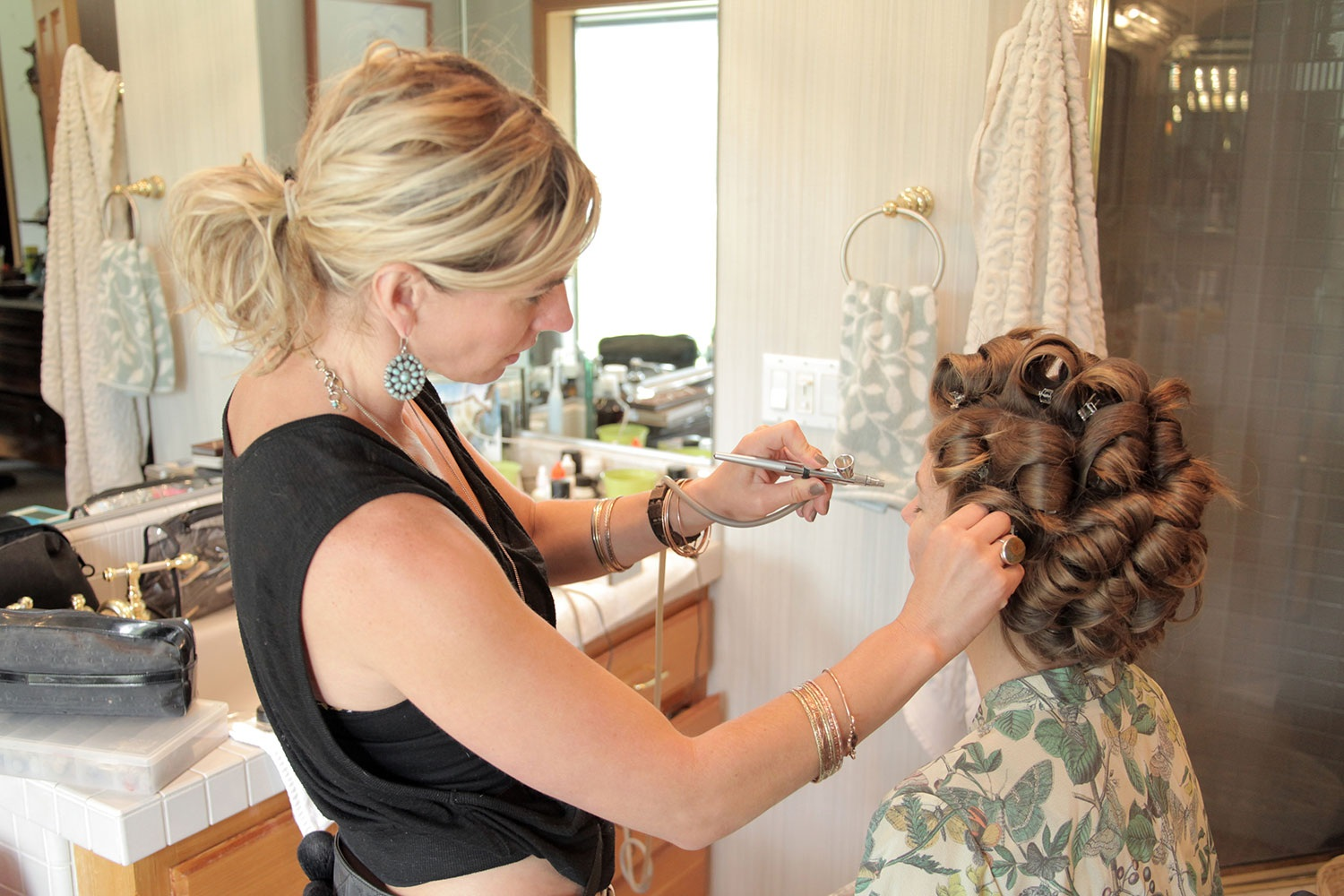 Upscale Haircuts Hair Colour Makeup Wedding Hair At Bloom