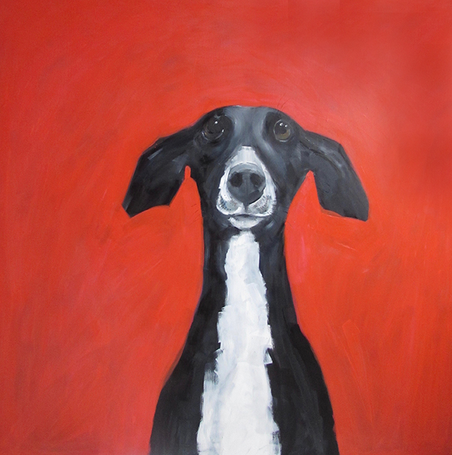 "Painting 48 x 48"" £2000"