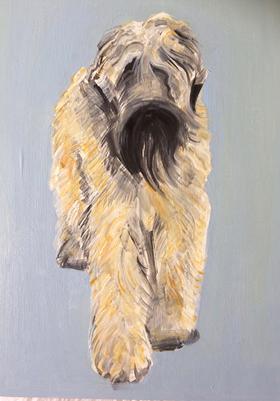 "Painting 36 x 48"" £1500"