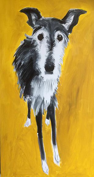 Painting 36 x 60 £1800