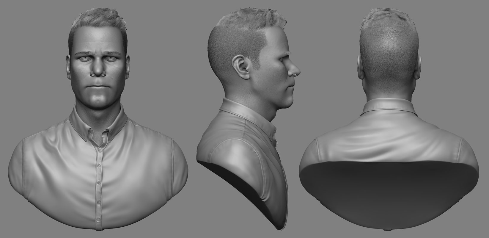 Self-Portrait Sculpt