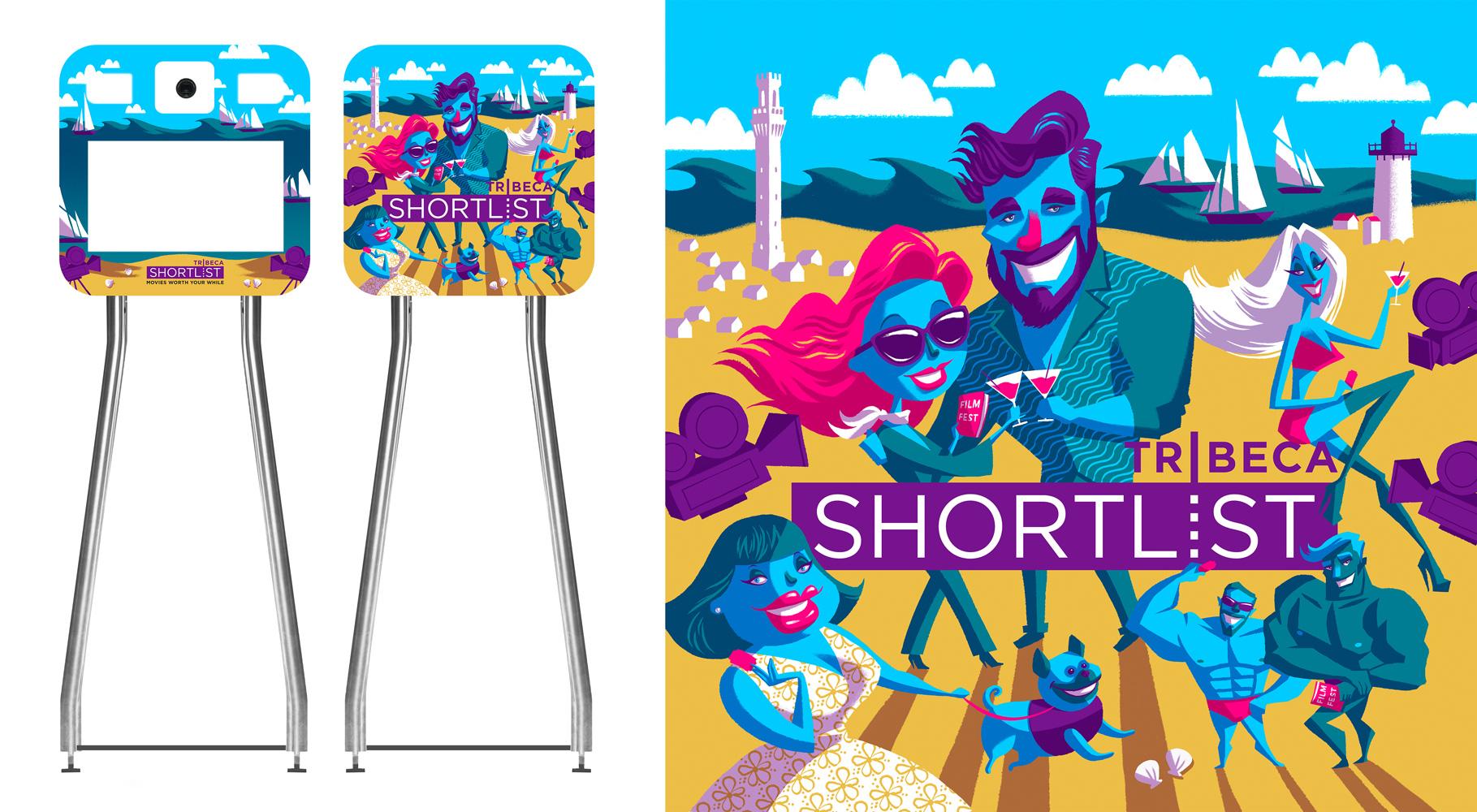 Tribeca Shortlist Sharing Box