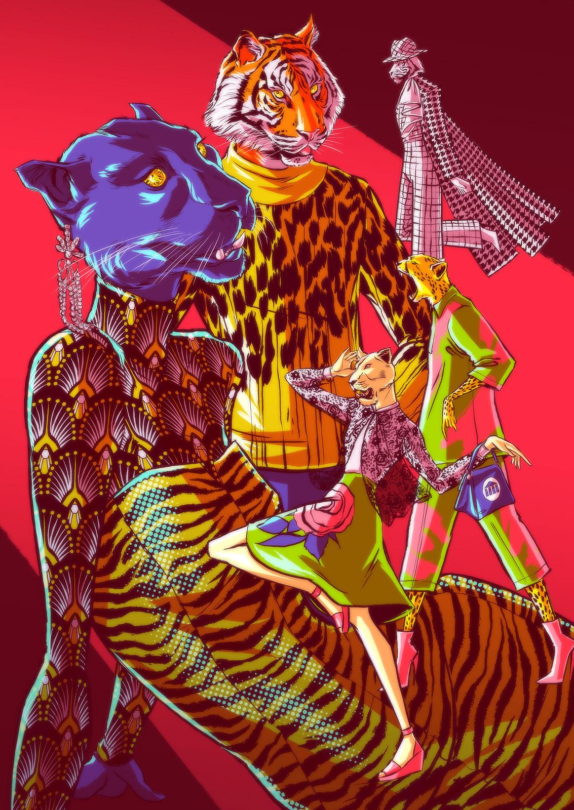 Big Cats Fashion