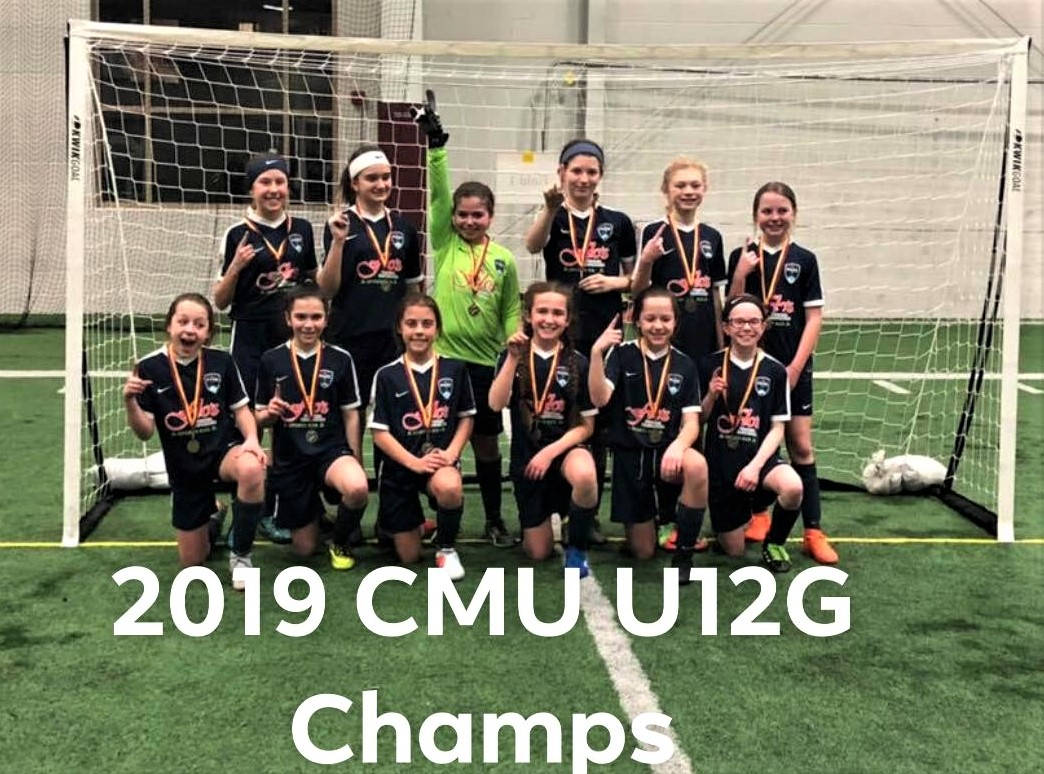 U12 girls - CMU Soccerfest Champs