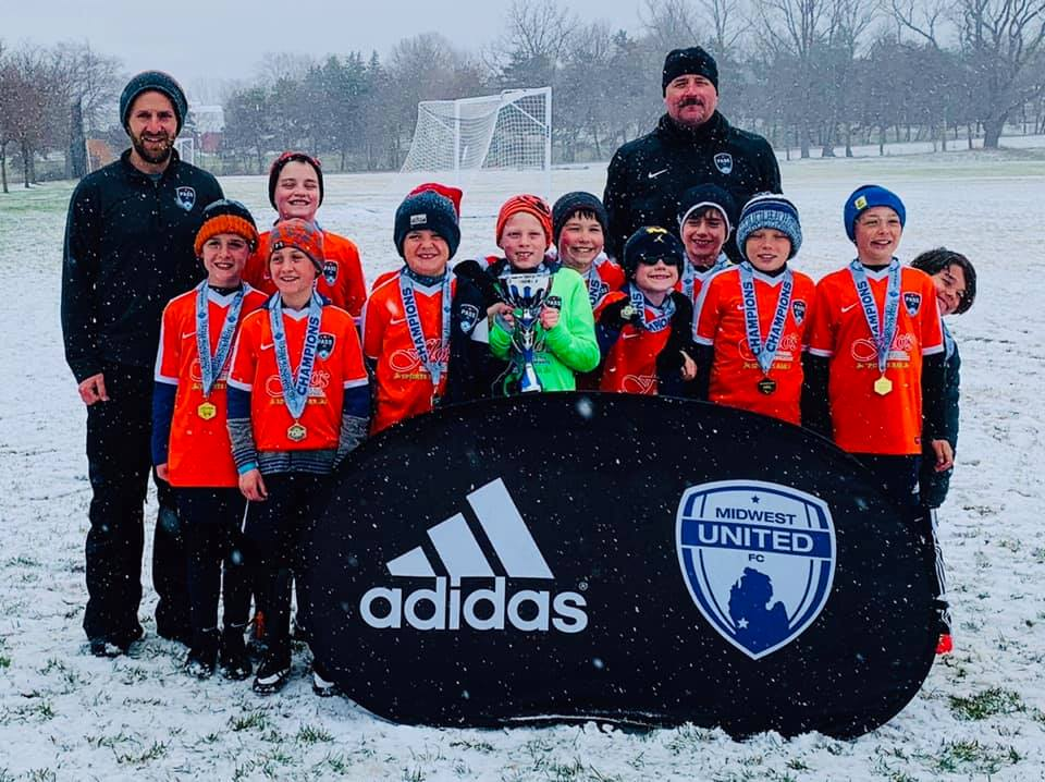 u10 boys - Midwest United Spring Classic Champions. They are coached by Jason Wingard and Dave Clark