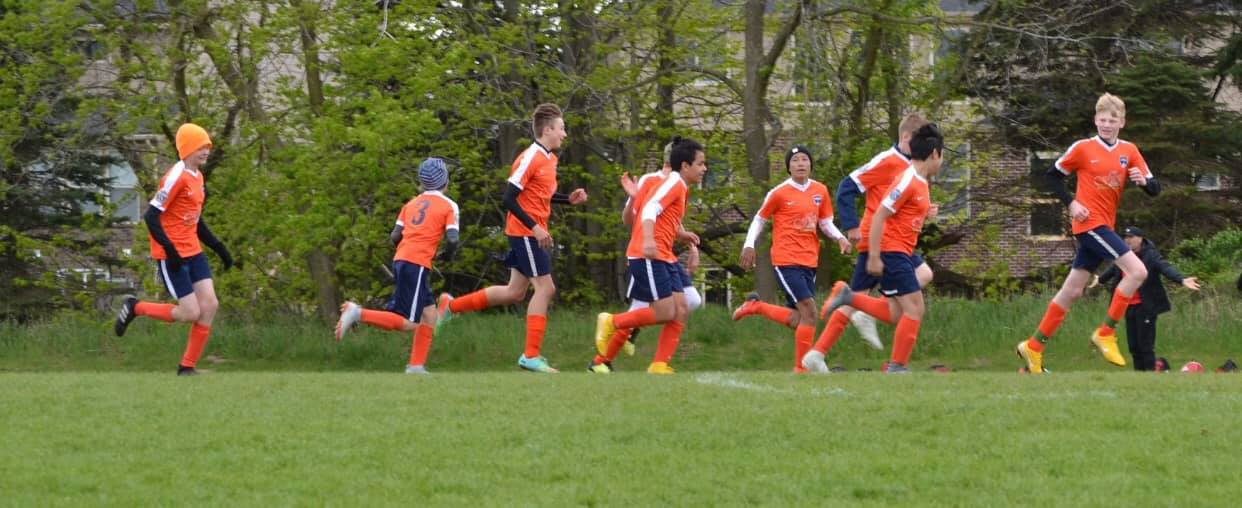 Congratulations! The '06 boys are NLC White Division champs! -