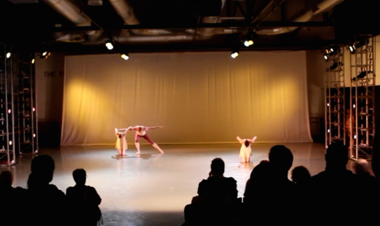 Still from 2012 Ballet Memphis Interiorworks creation Doublure