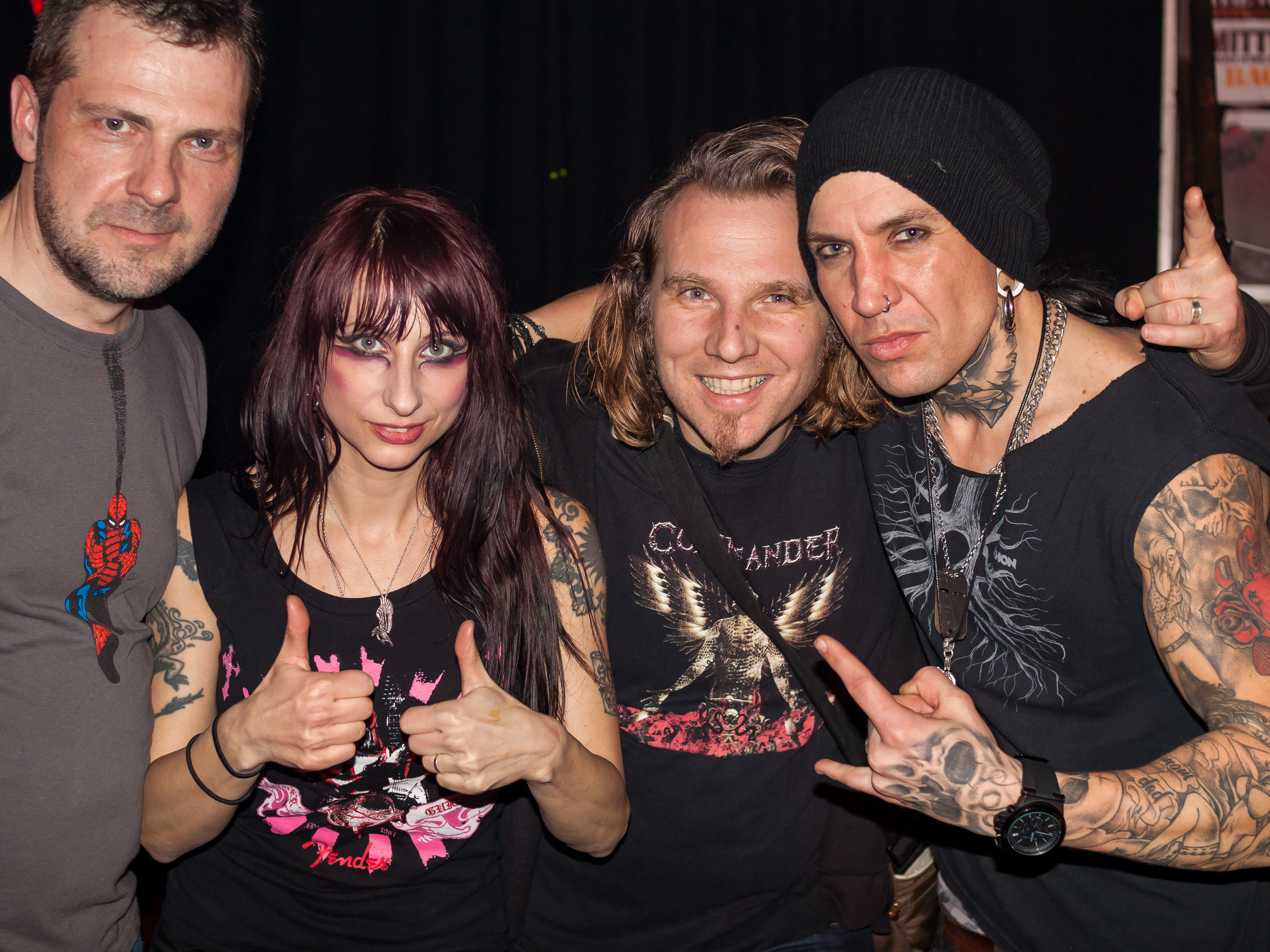 Liv & Dave from Sister Sin