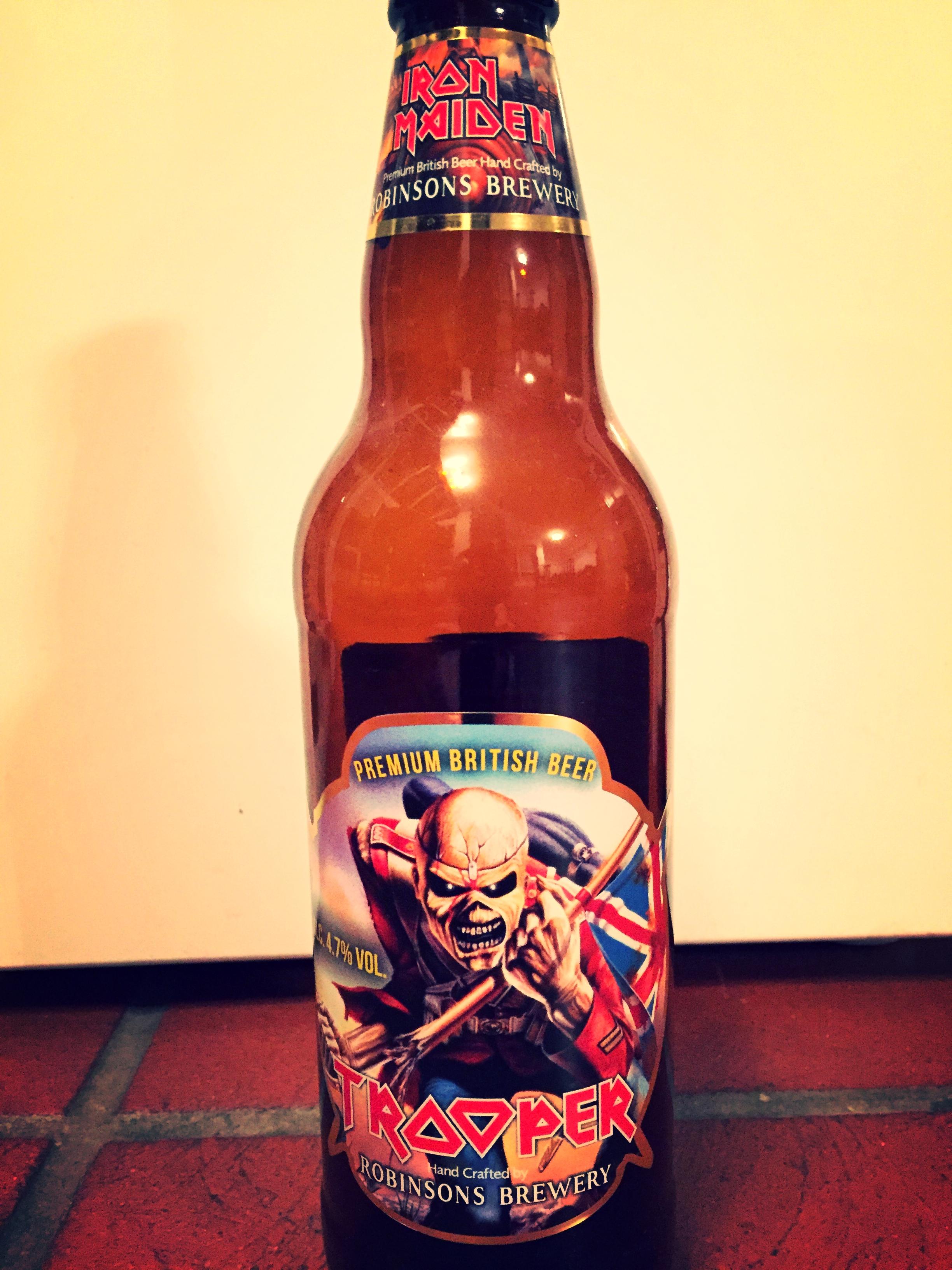 Für Eddie trinken wir sogar das...
