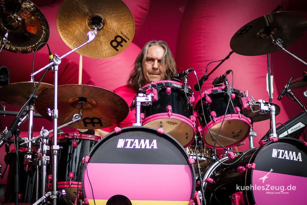 Wolfram Kellner an Den Rosa Drums