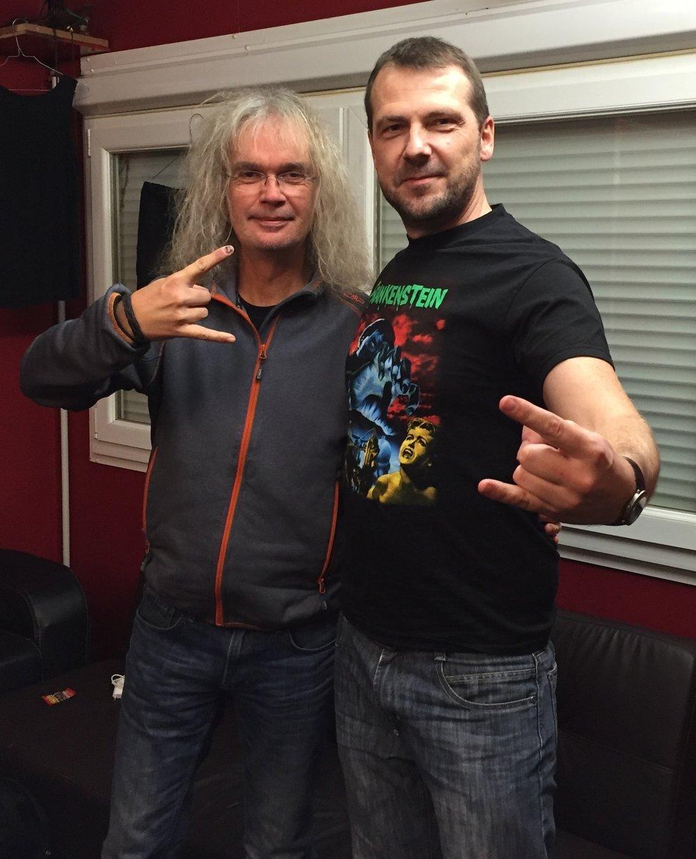 Herr GraveDigger und Herr Holgi