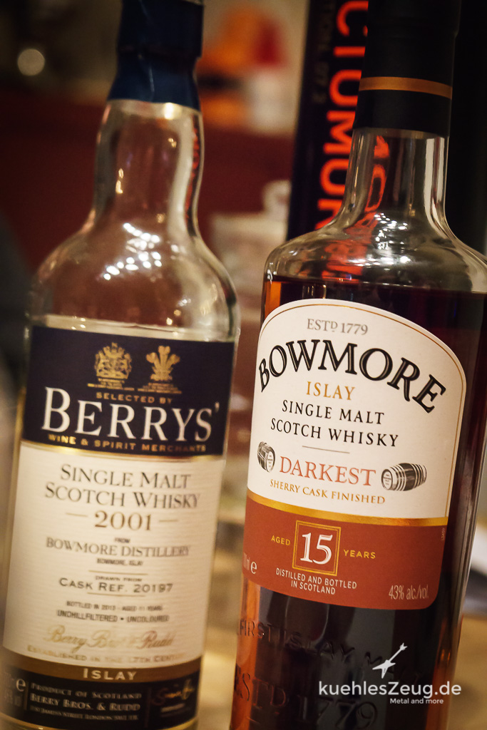 Bowmore VS. Bowmore